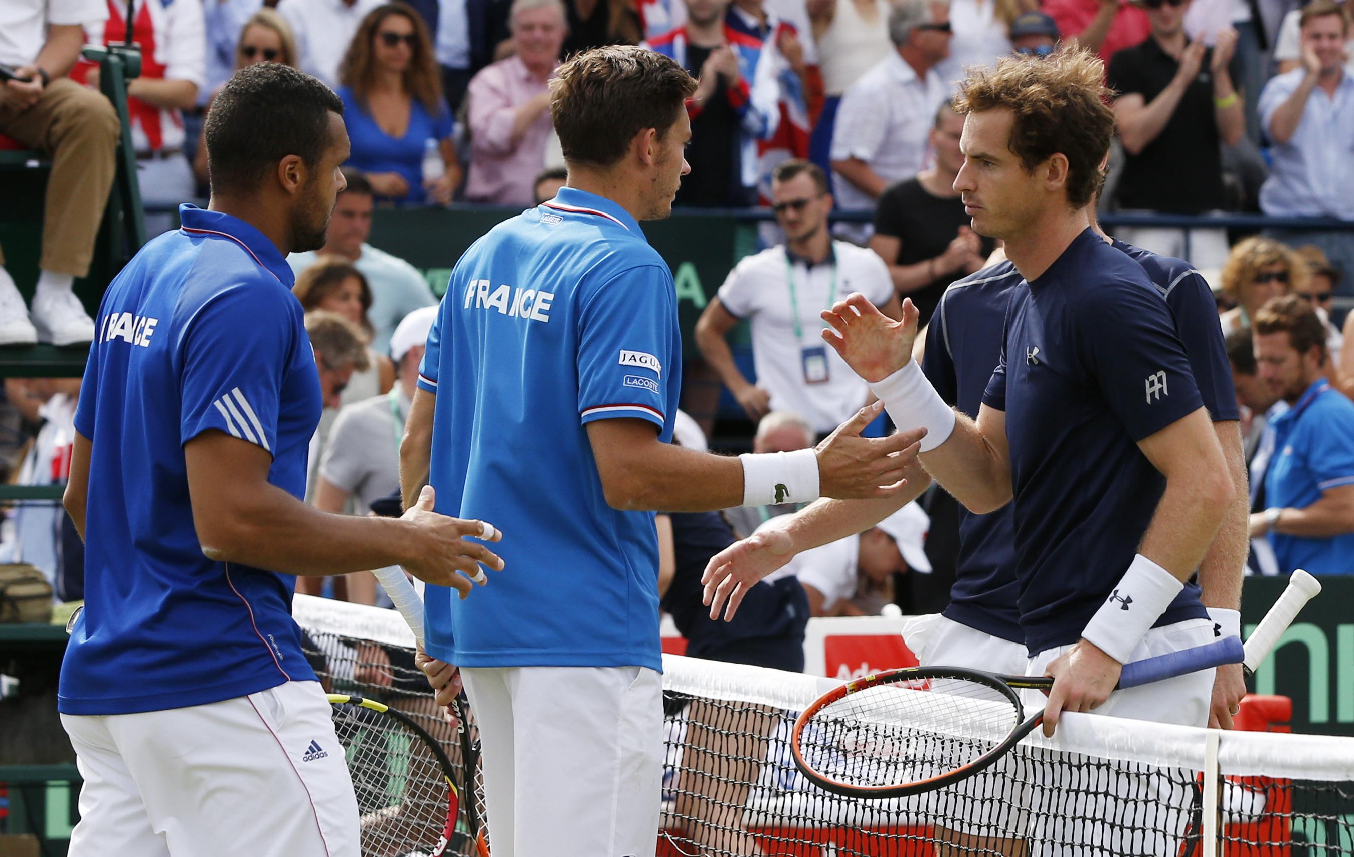 Tennis - Coupe Davis - Le ciel s?obscurcit pour les Bleus