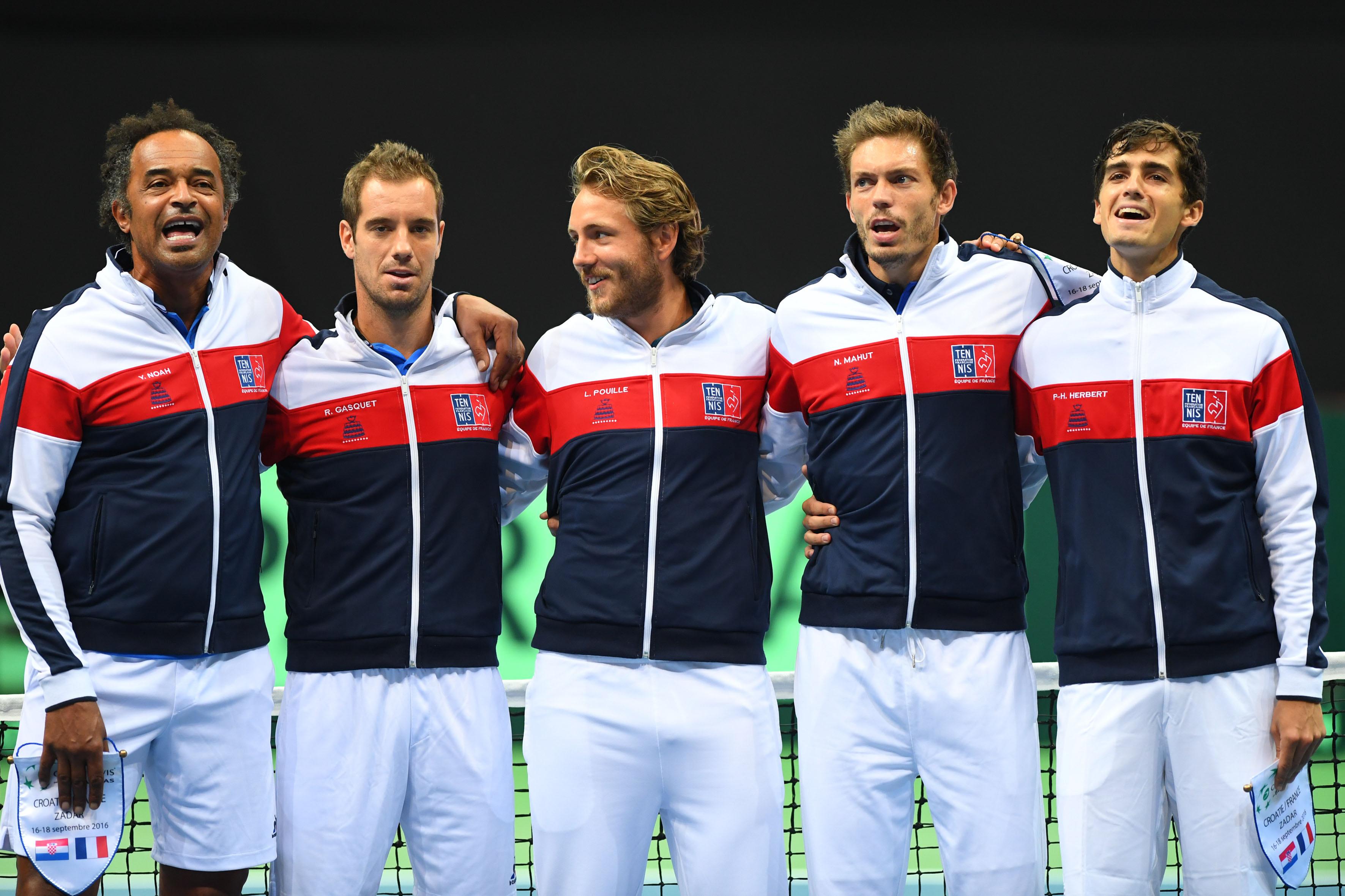 Tennis : Coupe Davis - Coupe Davis : Les Bleus se rendront au Japon pour le 1er tour en 2017