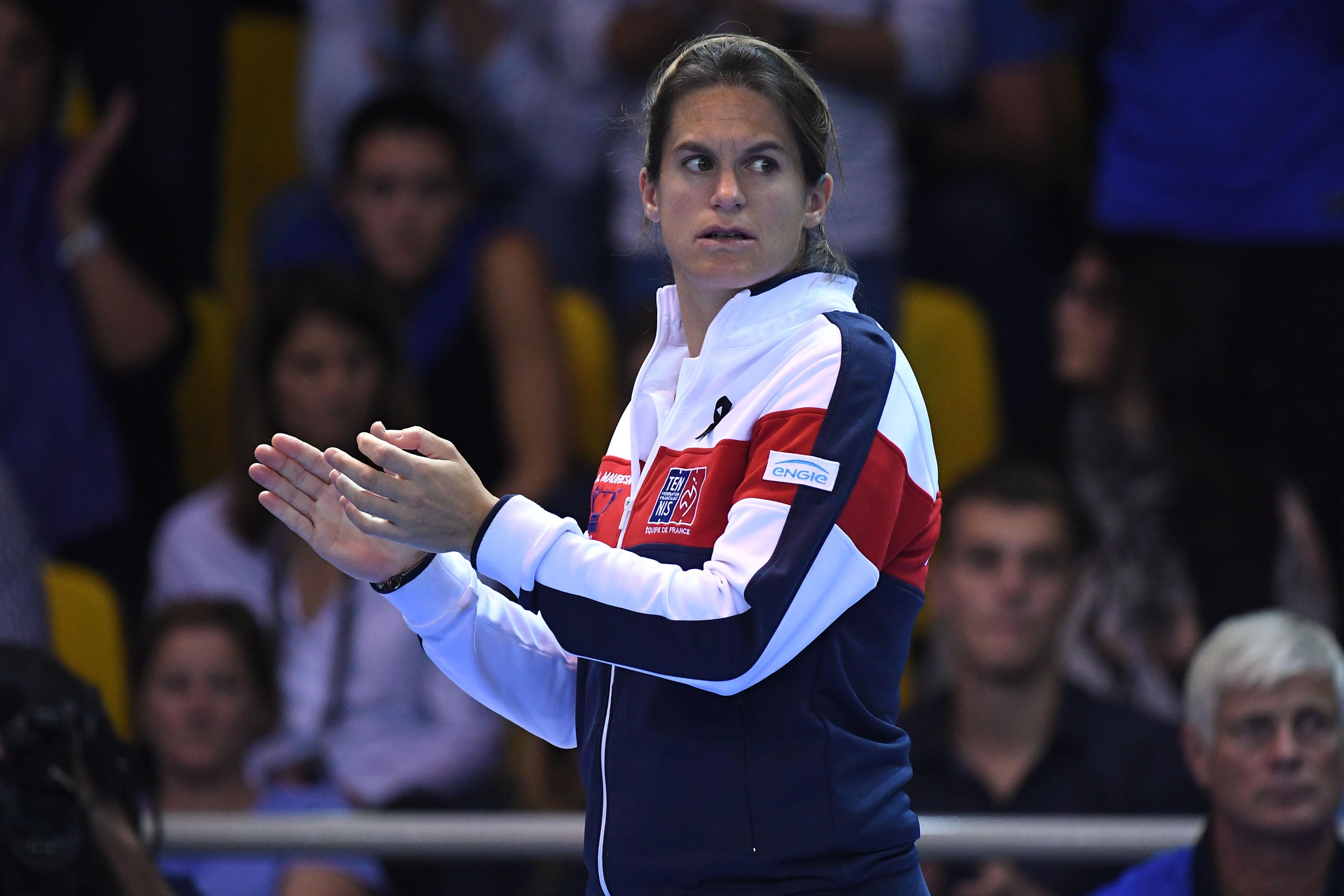 Tennis - Coupe Davis - Mauresmo délaisserait la Coupe Davis pour entraîner Pouille