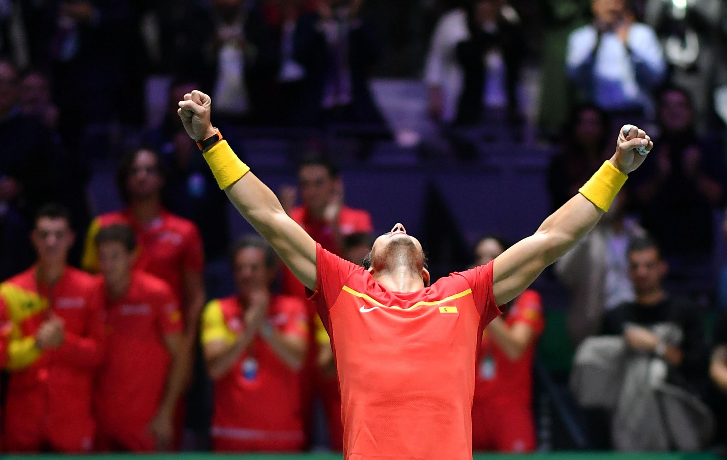 Tennis - Coupe Davis - Nadal et l'Espagne tiennent leur finale à domicile