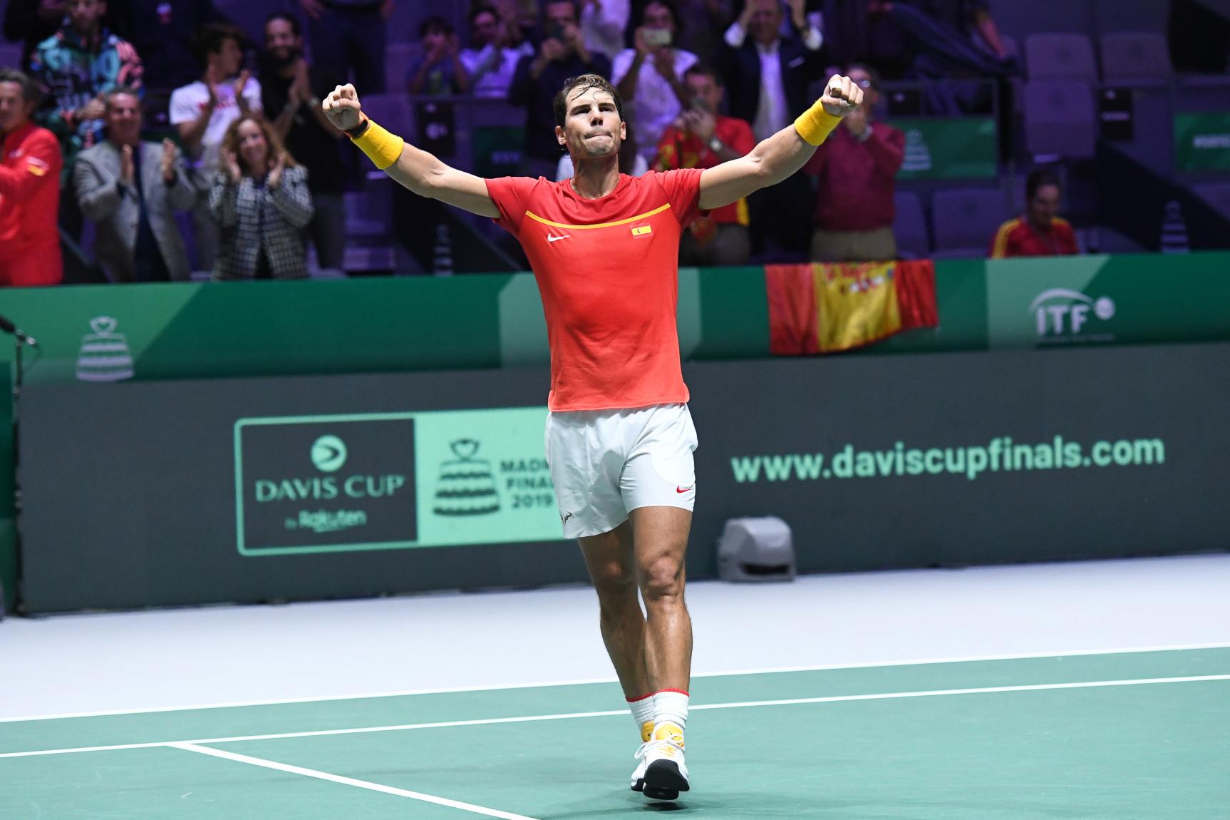 Tennis - Coupe Davis - Nadal sauve (un peu) les apparences de la nouvelle Coupe Davis