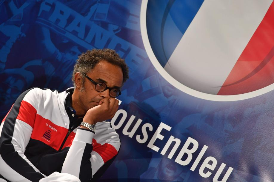 Tennis - Coupe Davis - Noah, à propos des absents : «Il y a eu des larmes»