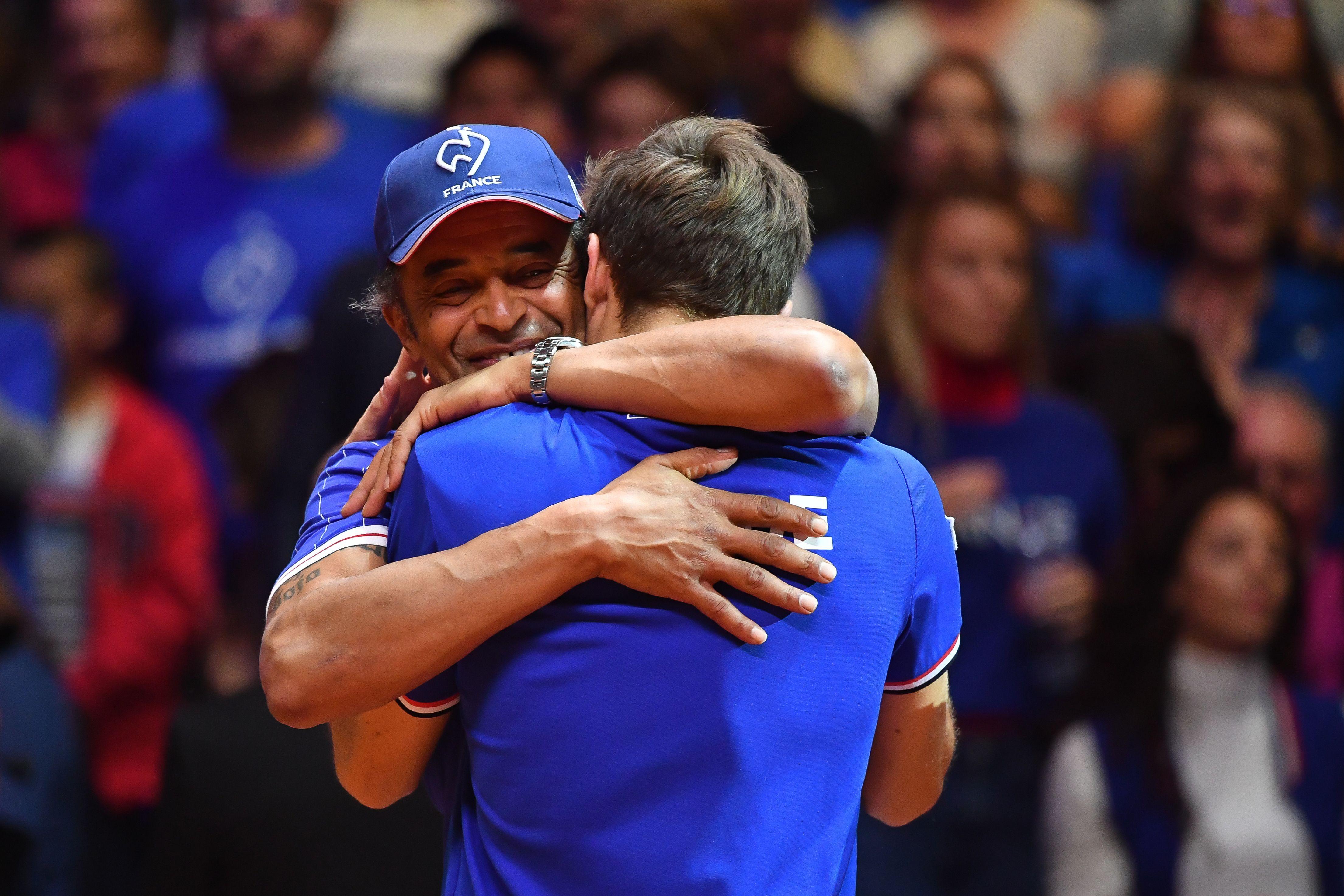 Tennis - Coupe Davis - Noah : «Une montagne à gravir face à deux grands joueurs»