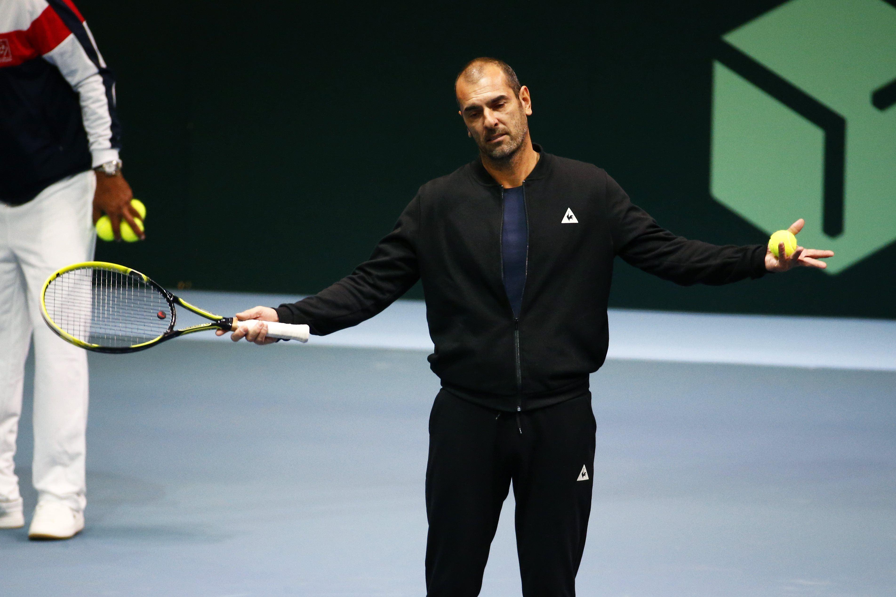 Tennis - Coupe Davis - Pioline au Figaro : «Tout le monde est à 150%»