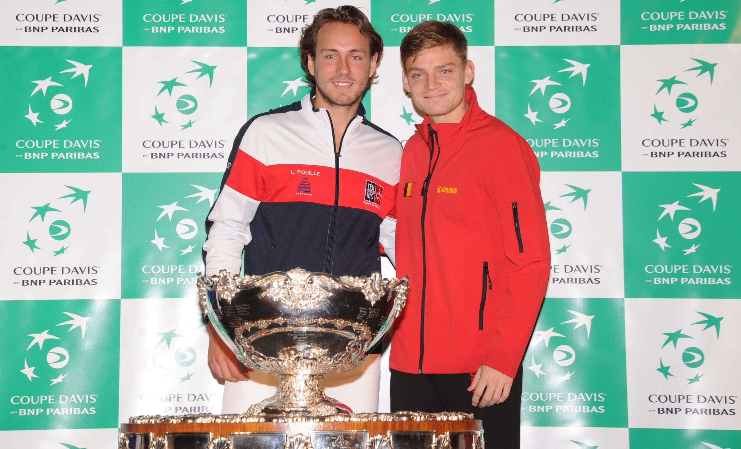 Tennis - Coupe Davis - Pouille avant d'affronter Goffin : «Il y aura la guerre et après l'amitié»