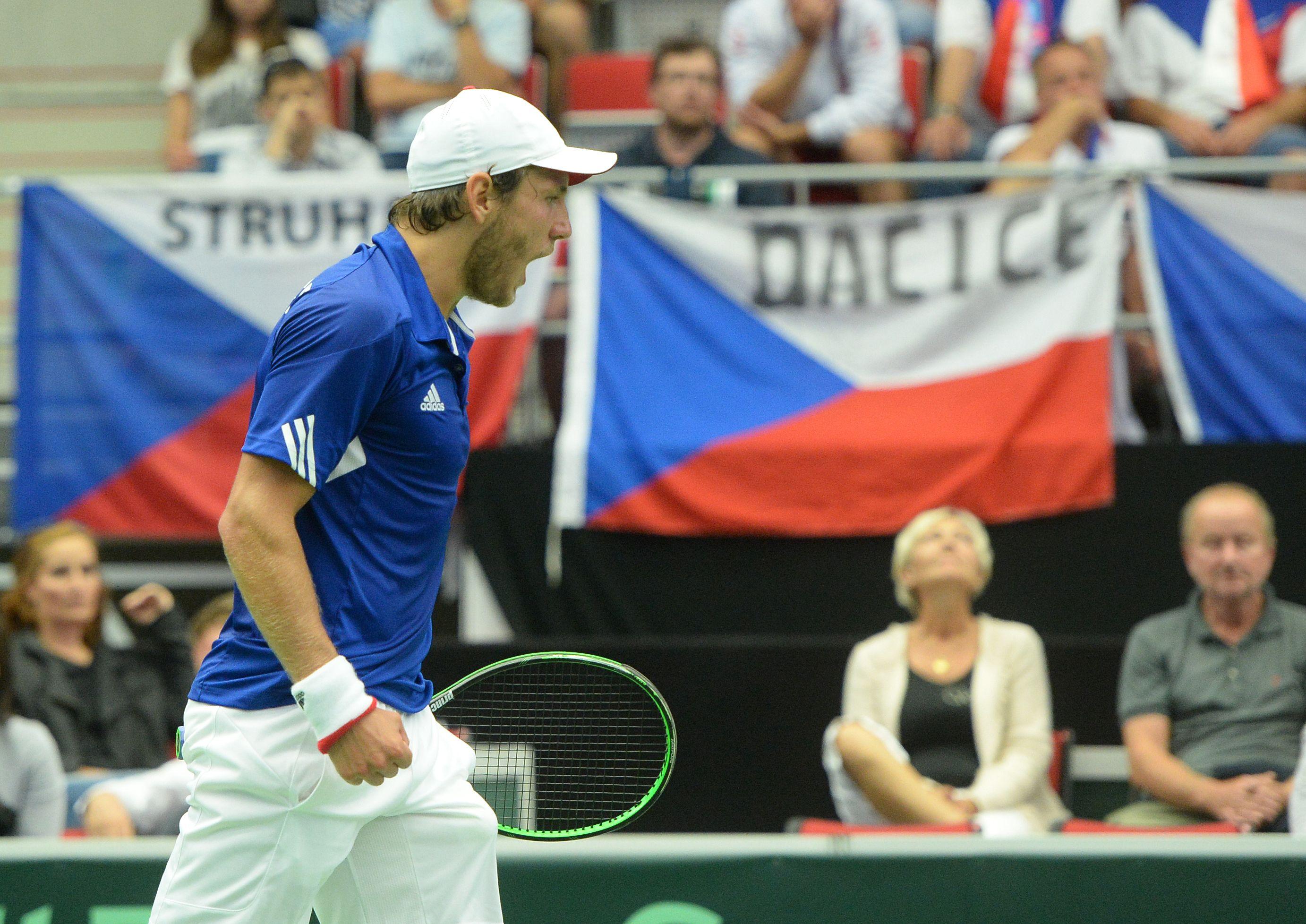 Les bleus tennis