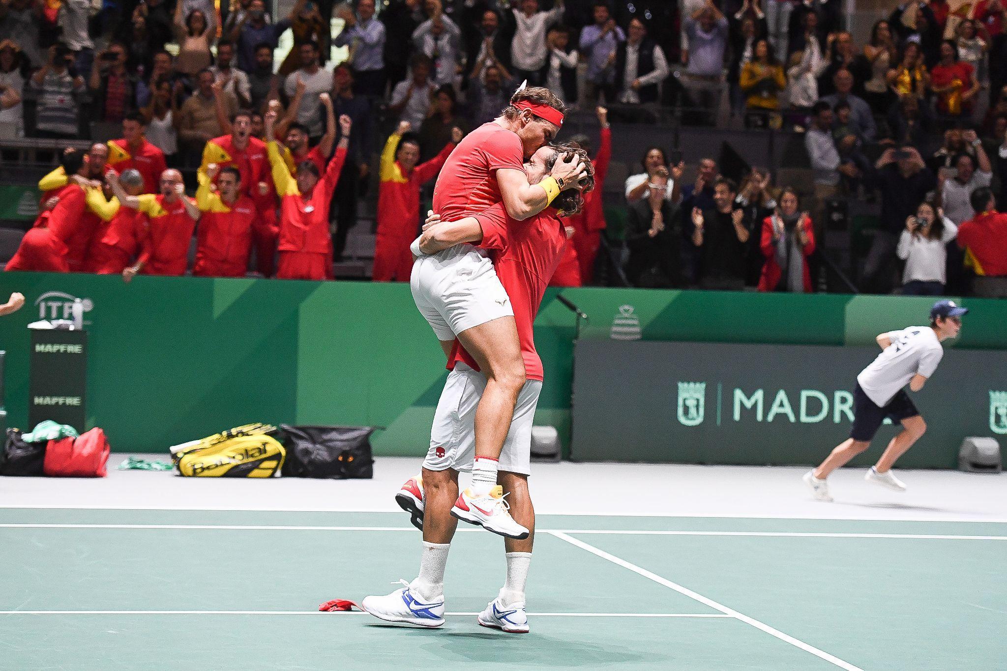 Tennis - Coupe Davis - Pour l'Espagnol Feliciano Lopez, Nadal est «un super héros»