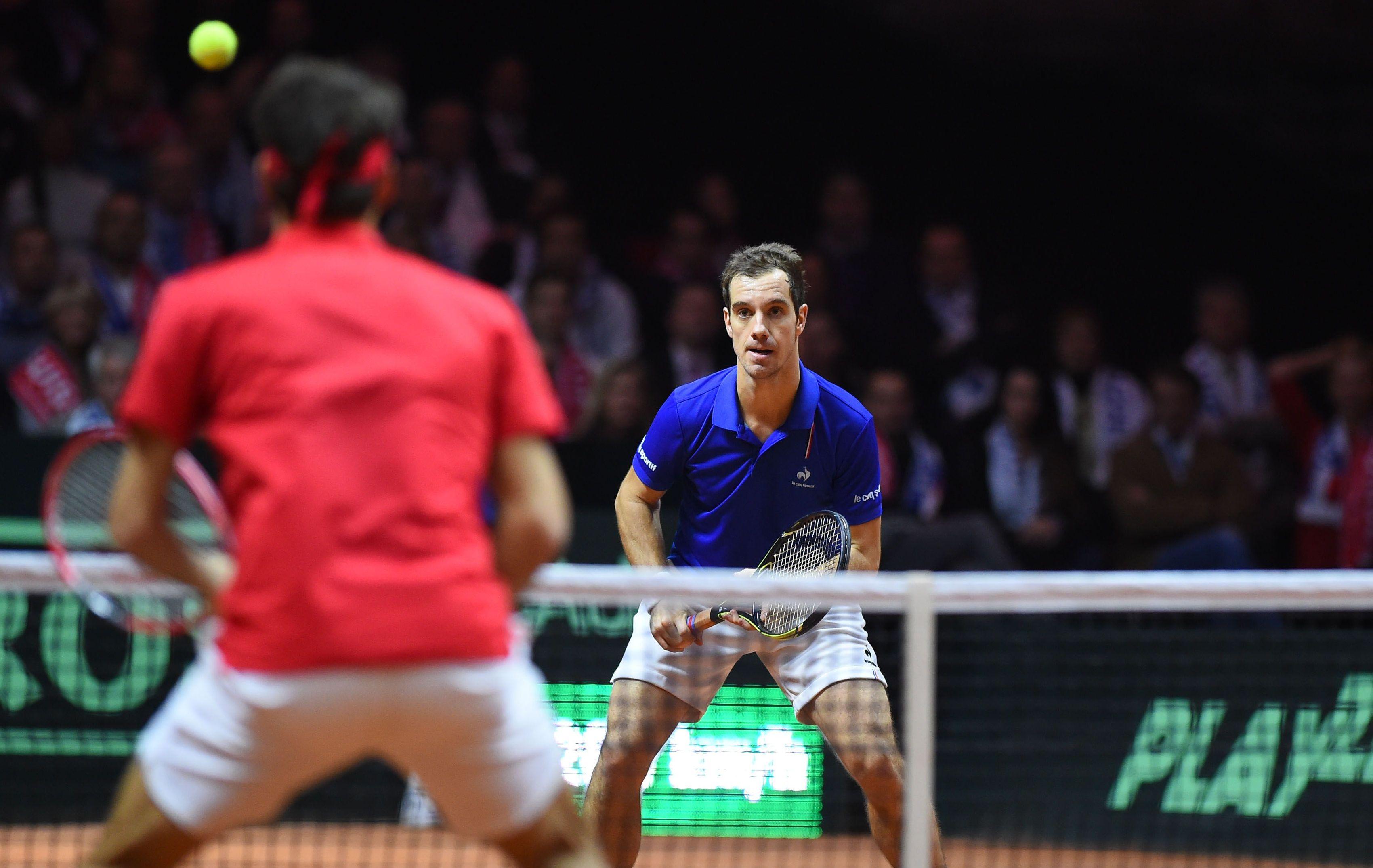 Coupe Davis - Suivez le match Gasquet-Federer en direct