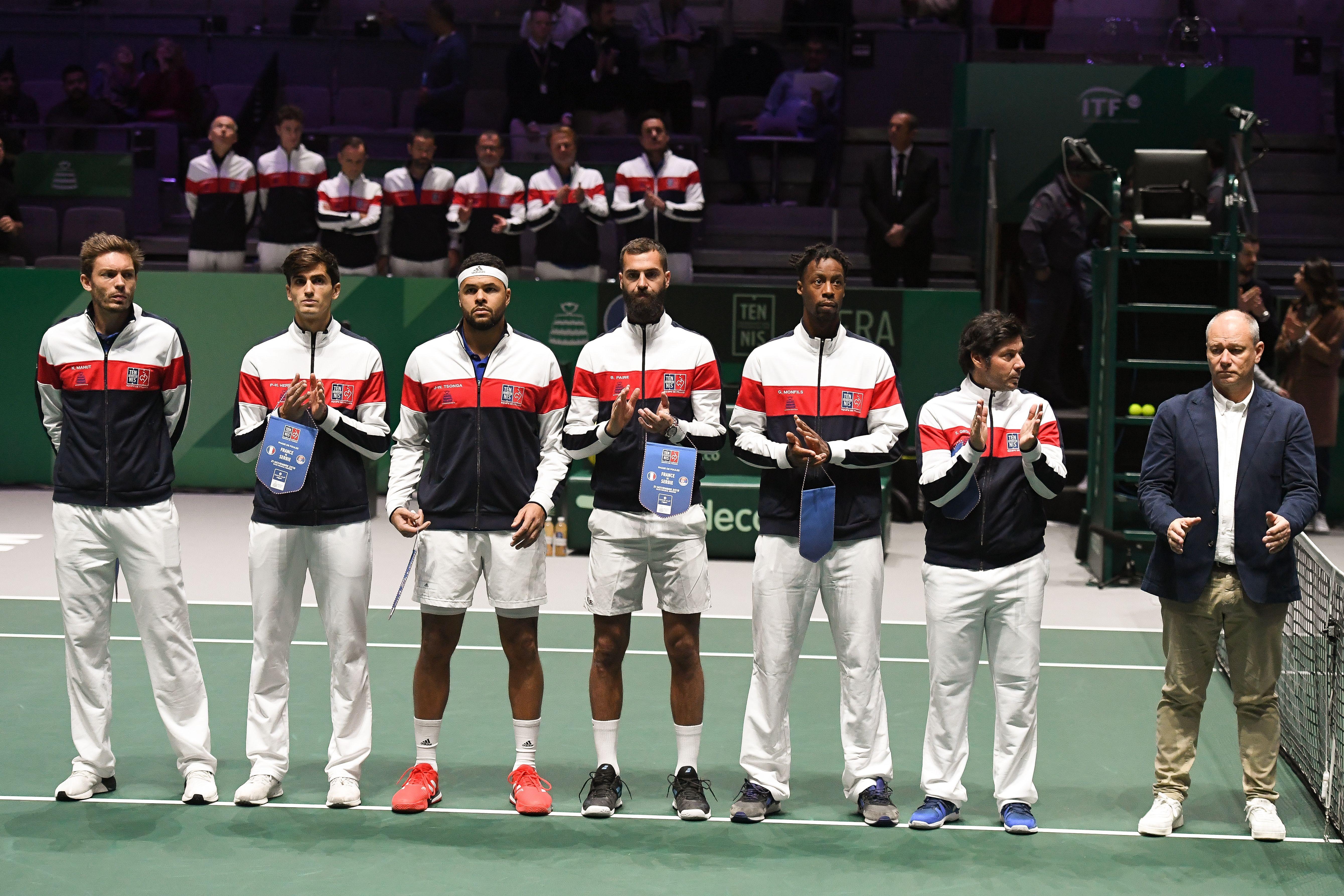 Tennis - Coupe Davis - «Tradition piétinée» pour Mahut, «format génial» pour Paire, le bilan des Bleus sur la nouvelle Coupe Davis