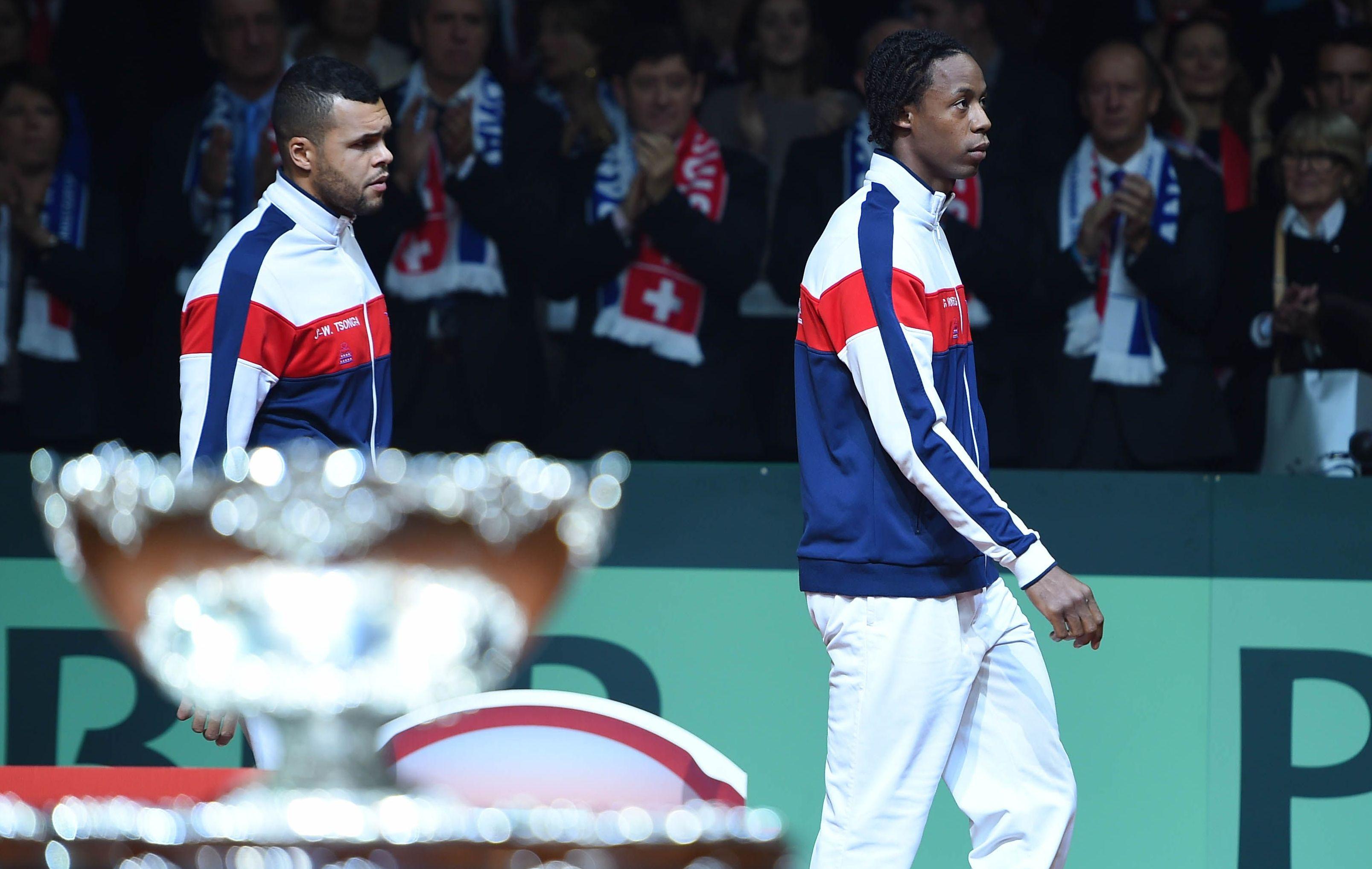 Tennis : Coupe Davis - Tsonga entrouvre la porte � Noah