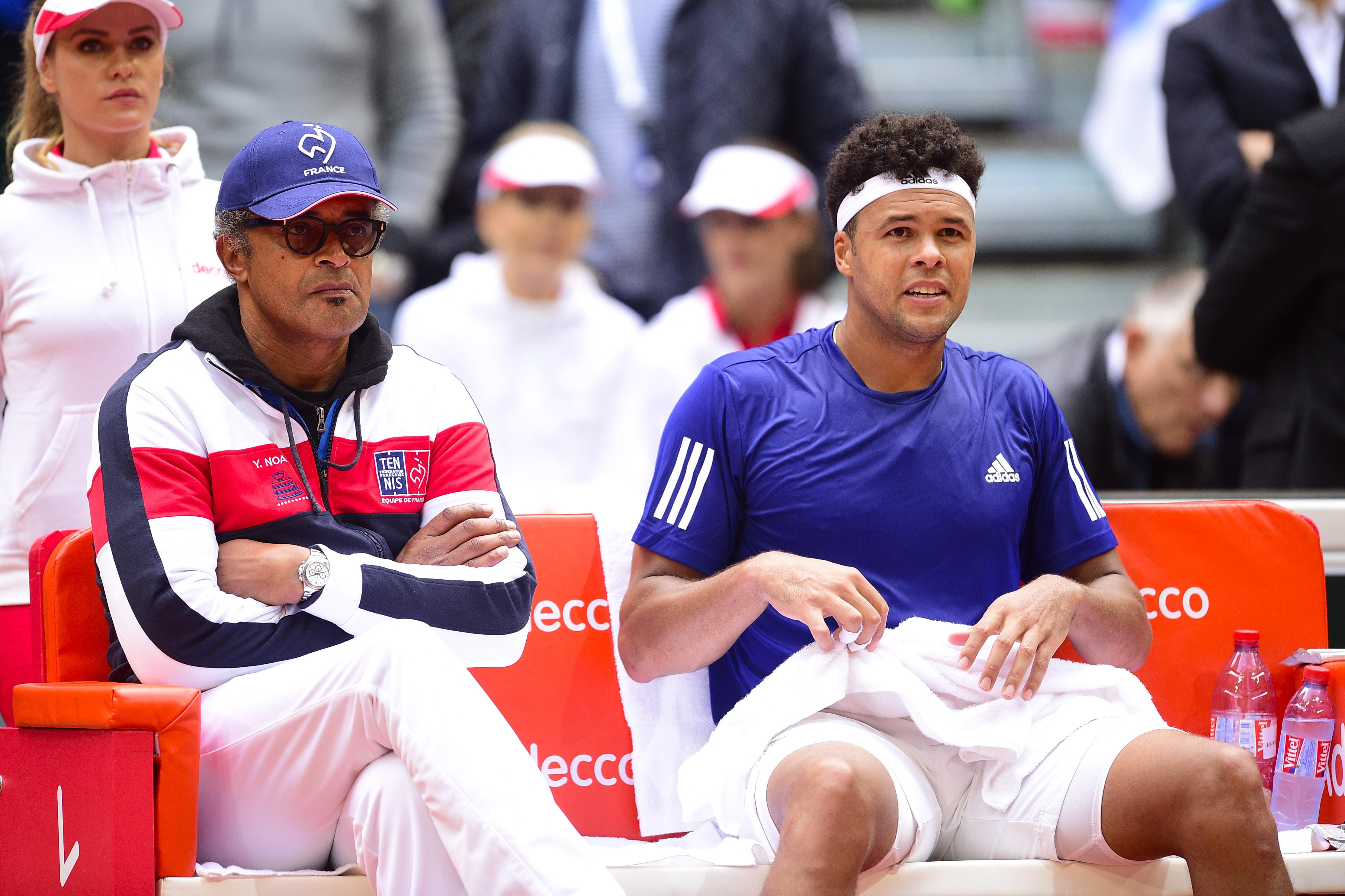 Tennis - Coupe Davis - Yannick Noah, à quoi joue-t-il ?