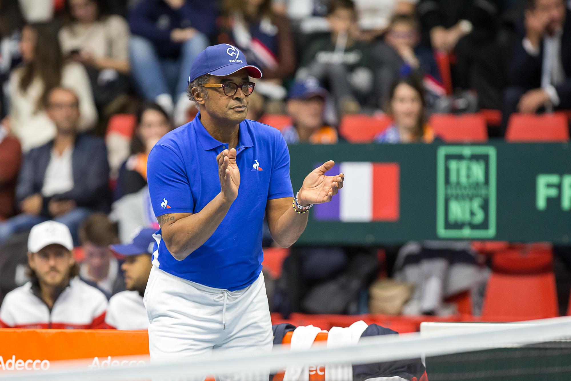 Tennis - Coupe Davis - Noah et la Coupe Davis : «Ils ont vendu l'âme d'une épreuve historique»