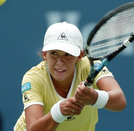 Bartoli US Open 2002