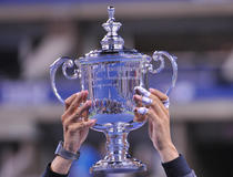 La coupe de l'US Open