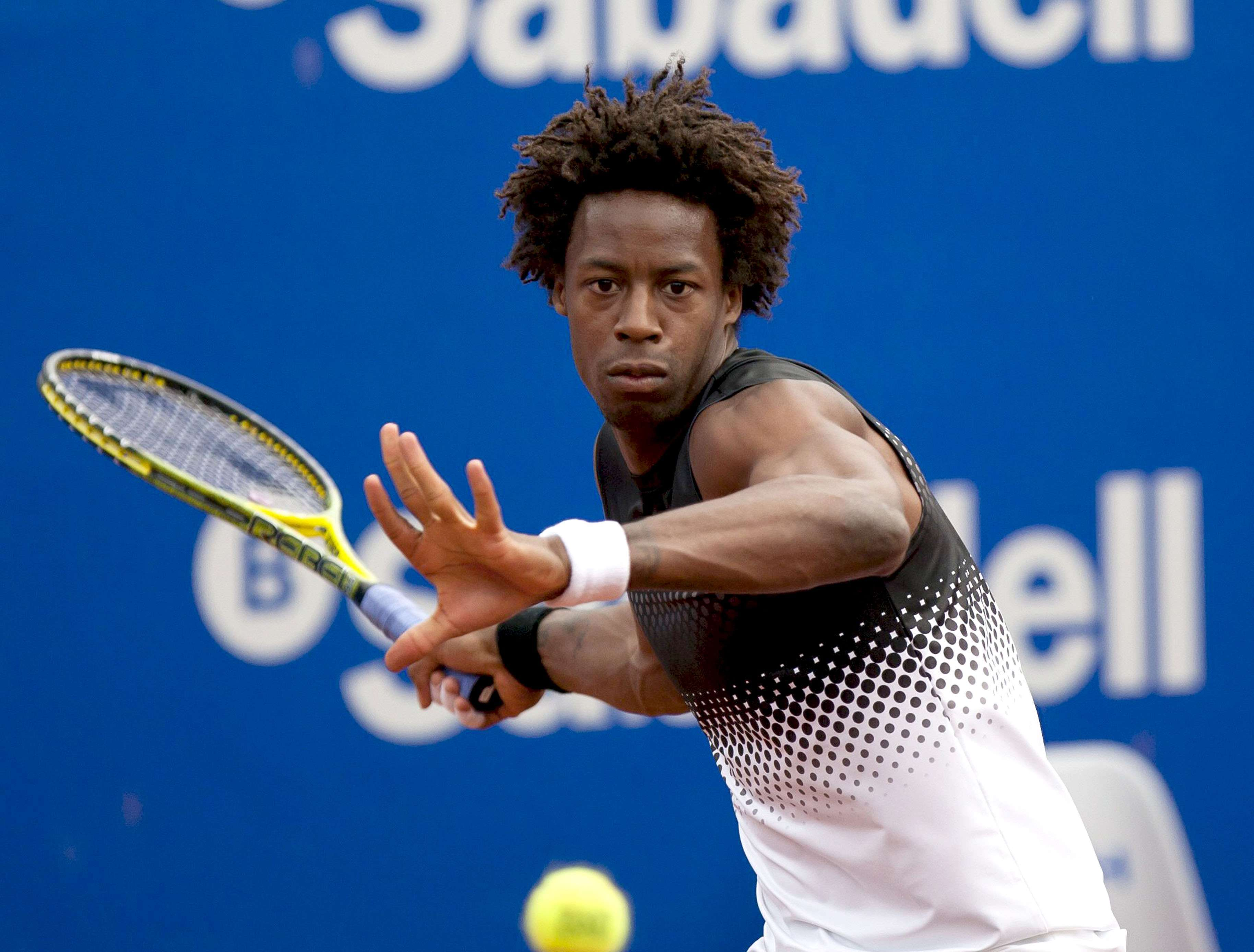 Gaël Monfils earned a  million dollar salary - leaving the net worth at 10 million in 2018