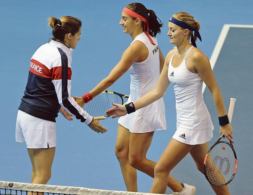 Tennis : Fed Cup - Départ de Mauresmo?: une mauvaise nouvelle