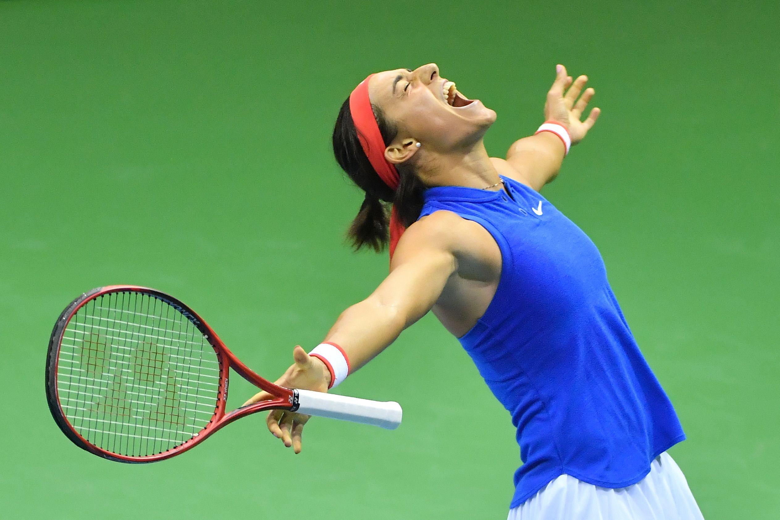 Tennis - Fed Cup - Fed Cup : Caroline Garcia envoie les Bleues en demi-finales