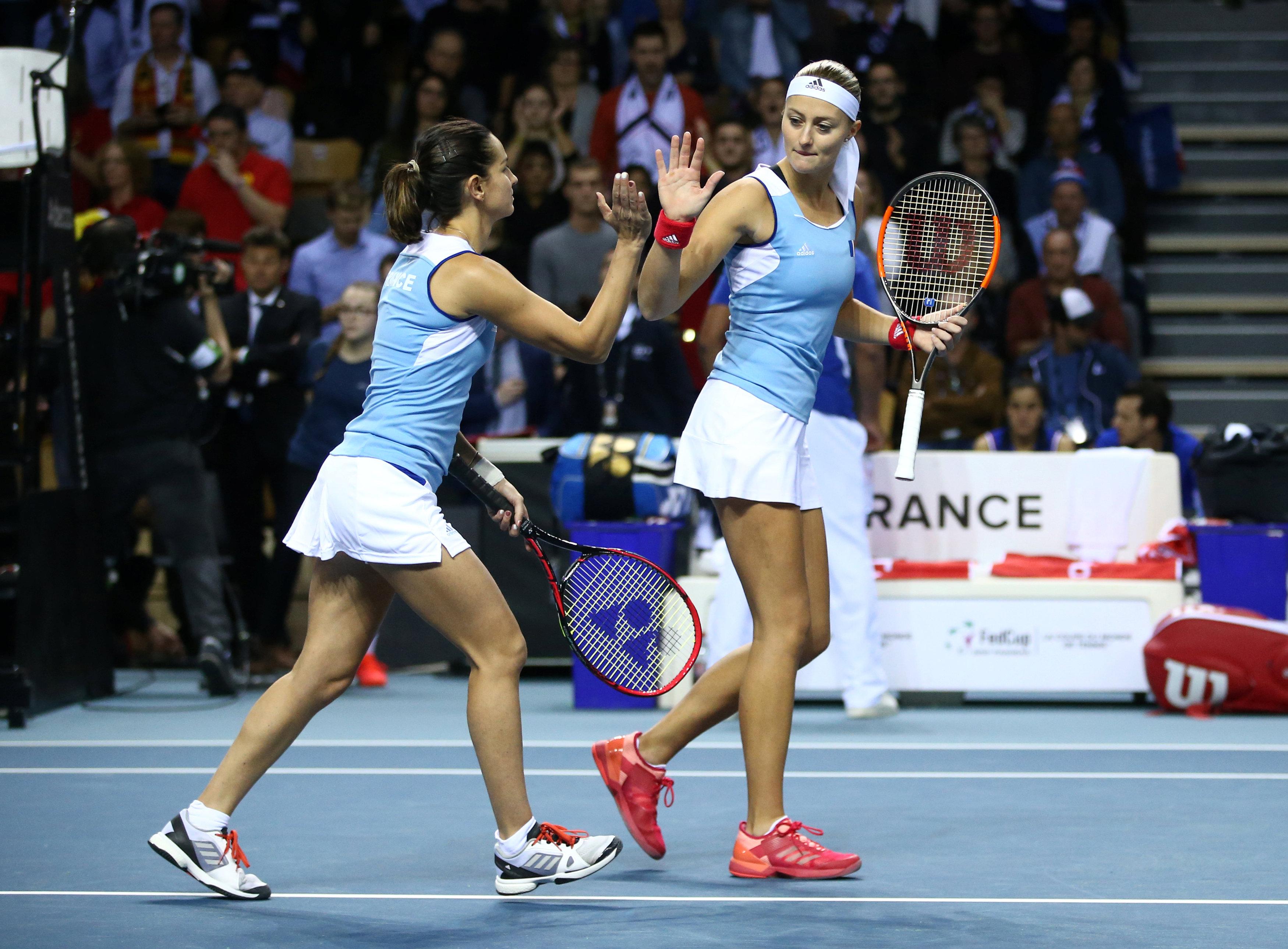 Tennis - Fed Cup - Fed Cup : le score du double France-Belgique en direct