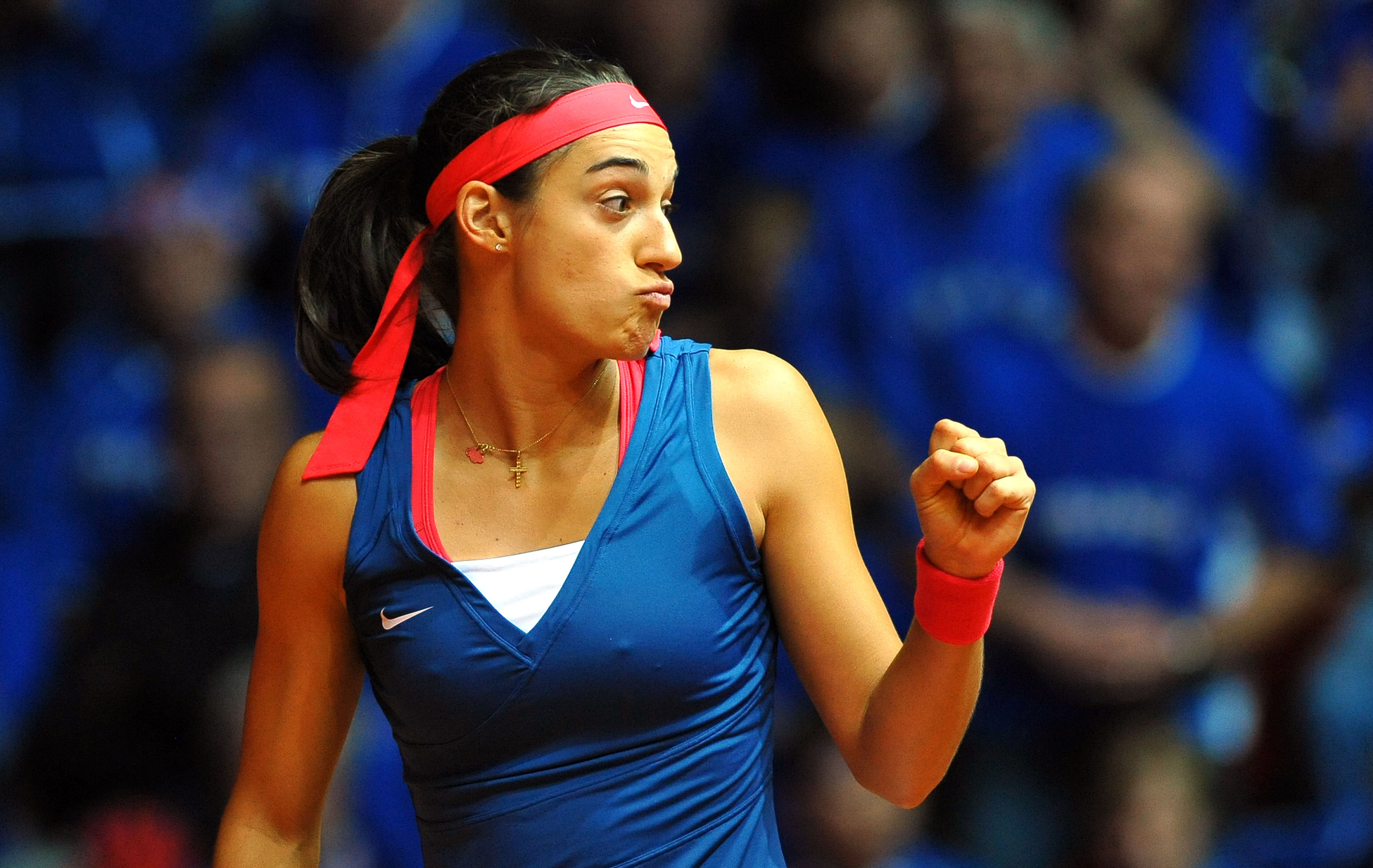 Tennis - Fed Cup - Garcia, arme num�ro 1 des Bleues ?