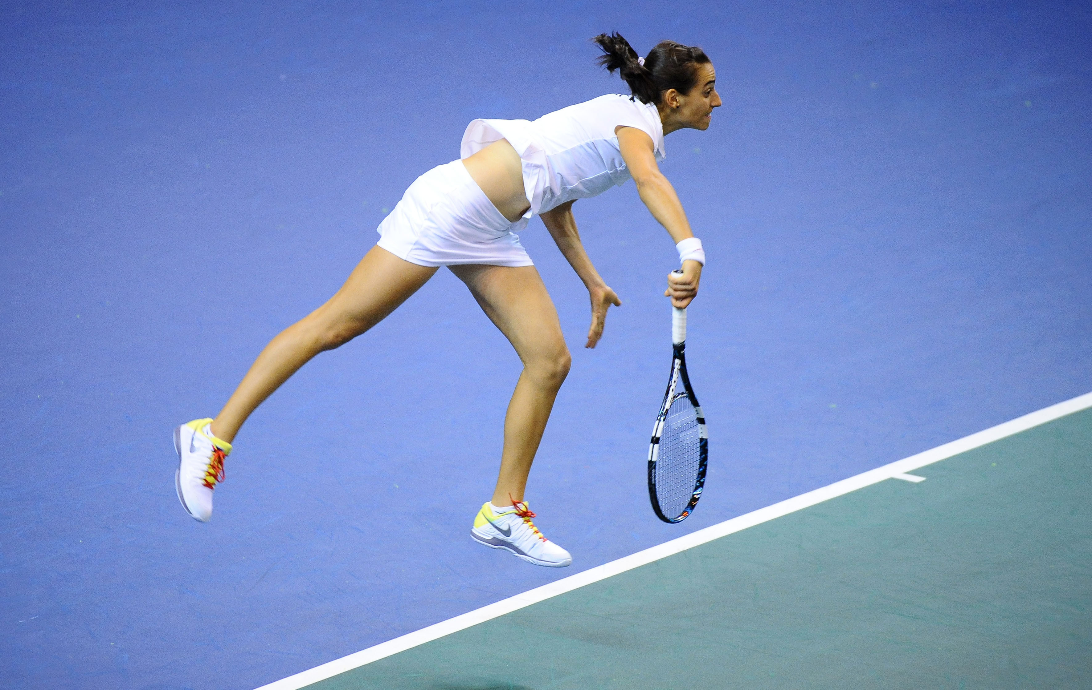 Tennis : Fed Cup - Garcia ram�ne les Bleues � hauteur