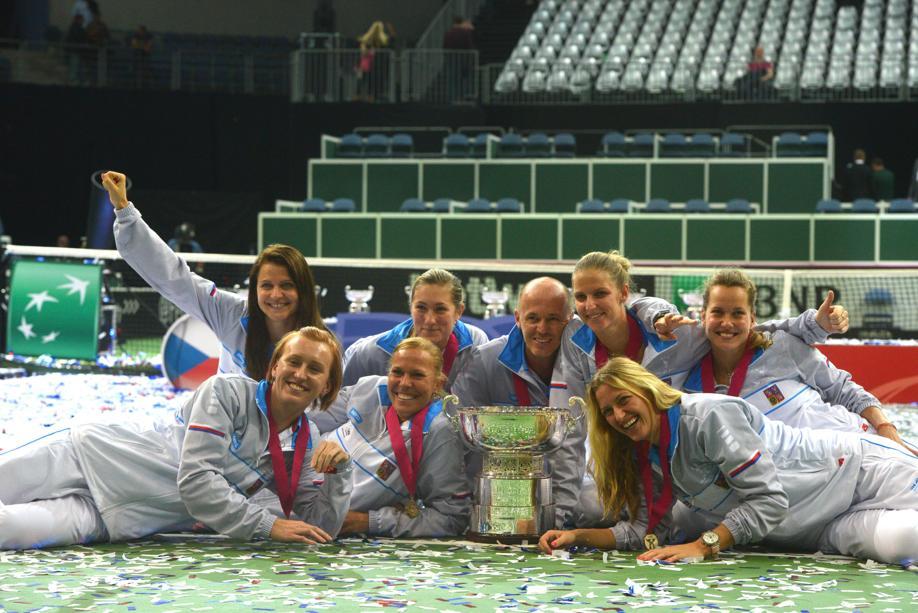 Tennis : Fed Cup - Karolina Pliskova donne une quatri�me victoire aux Tch�ques