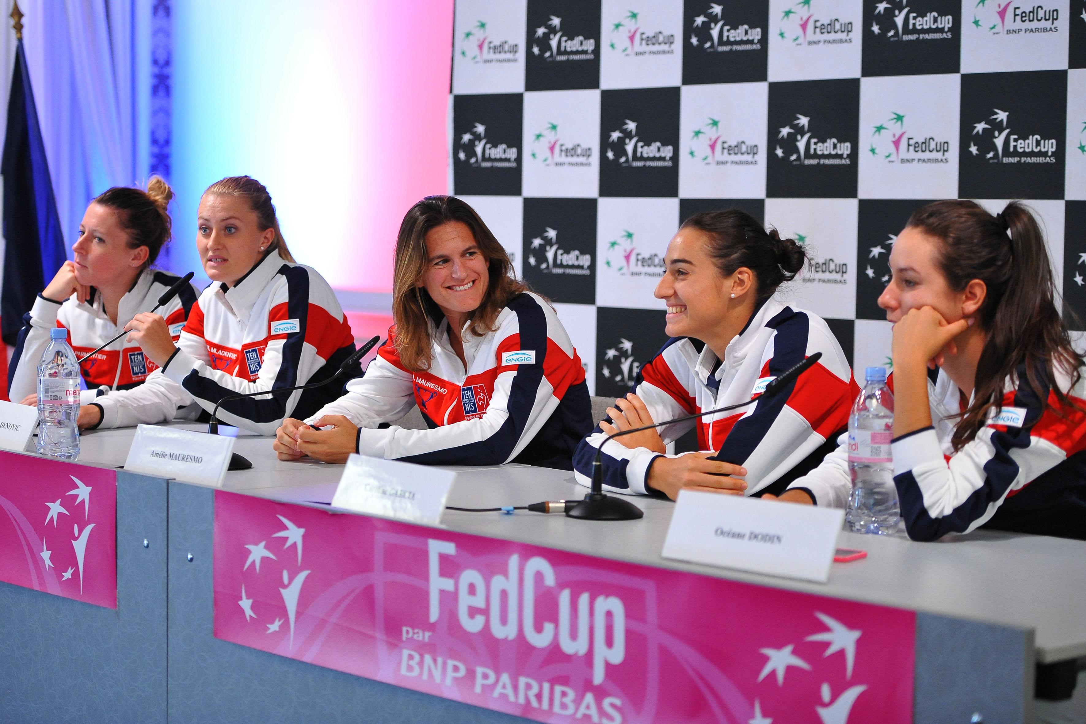 Tennis : Fed Cup - La France se m�fie d?une Italie revancharde