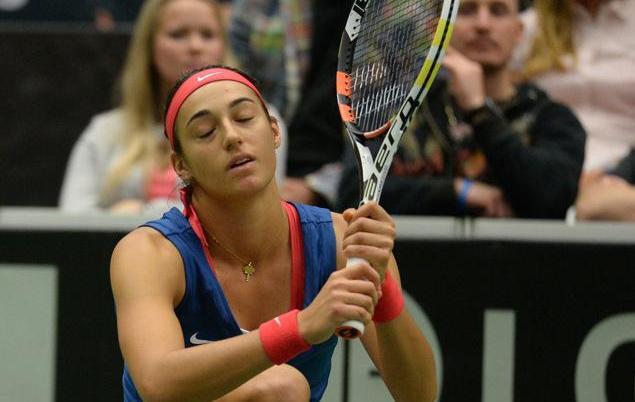 Tennis : Fed Cup - </b>Le miracle n?a pas eu lieu pour les Bleues