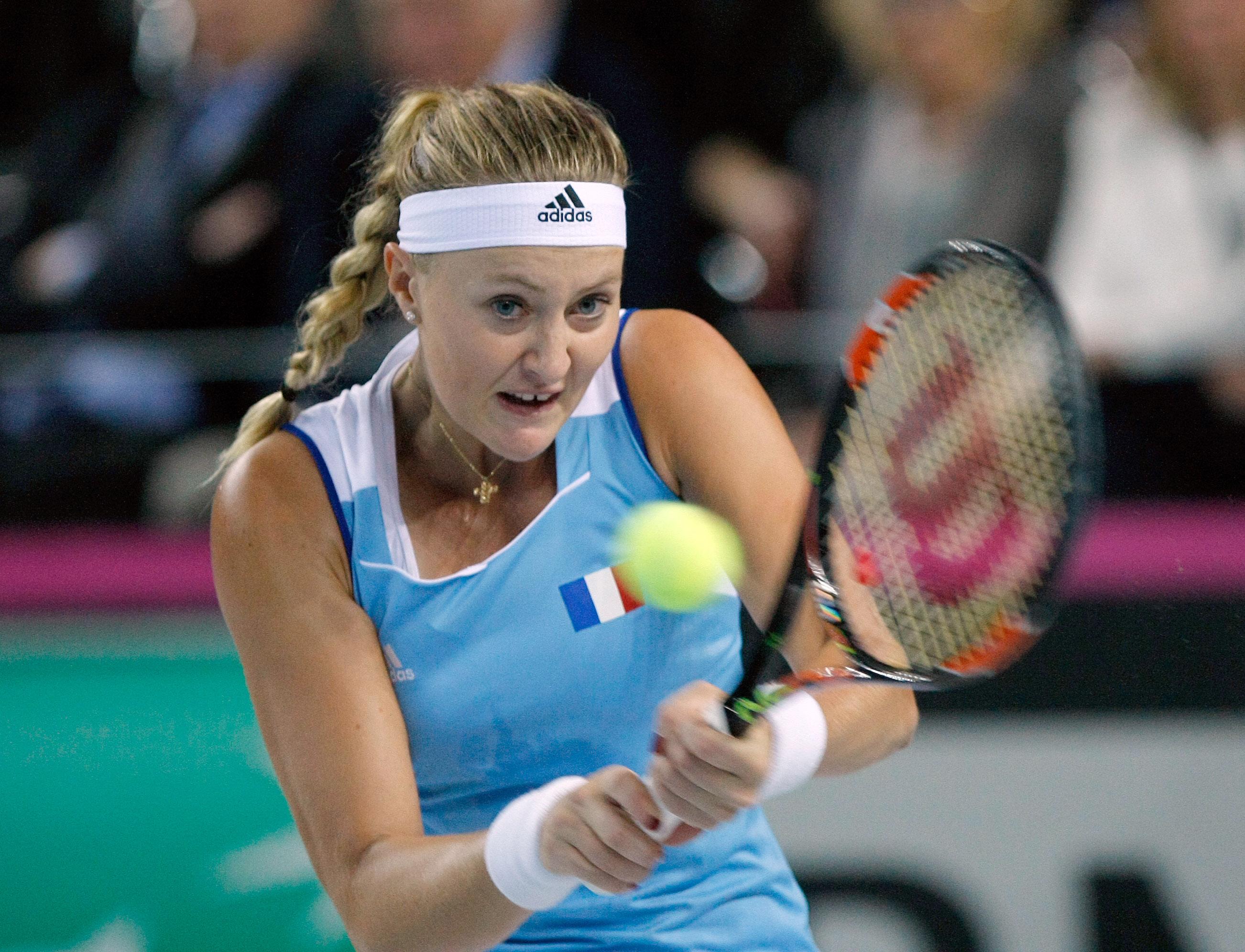 Tennis - Fed Cup - Mladenovic a mis de l'ordre dans sa tête