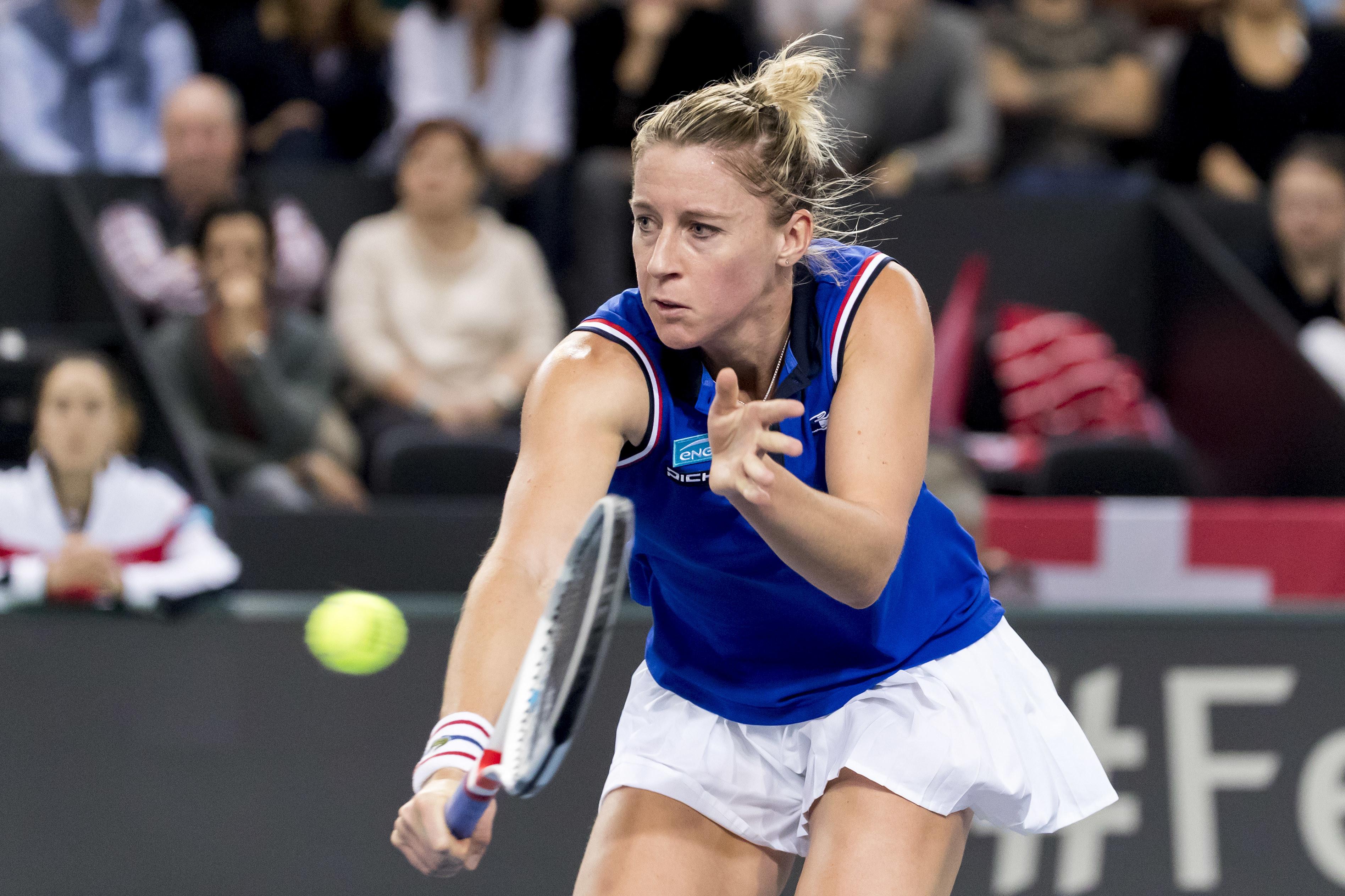 Tennis - Fed Cup - Suivez Pauline Parmentier- Sara Sorribes en direct