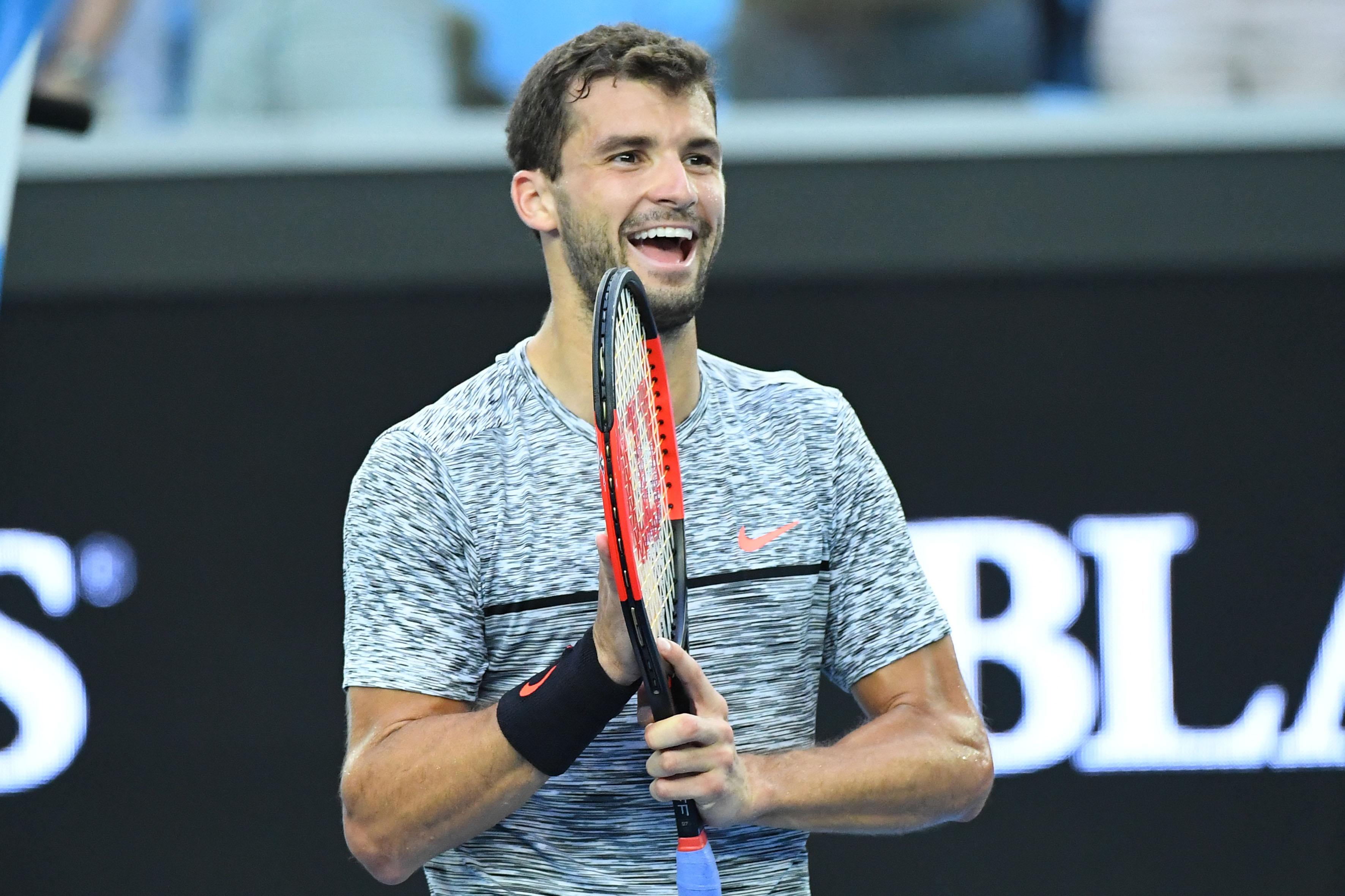 Tennis : Open Australie - Baby Federer, Nicole Scherzinger : 5 choses à savoir sur Grigor Dimitrov