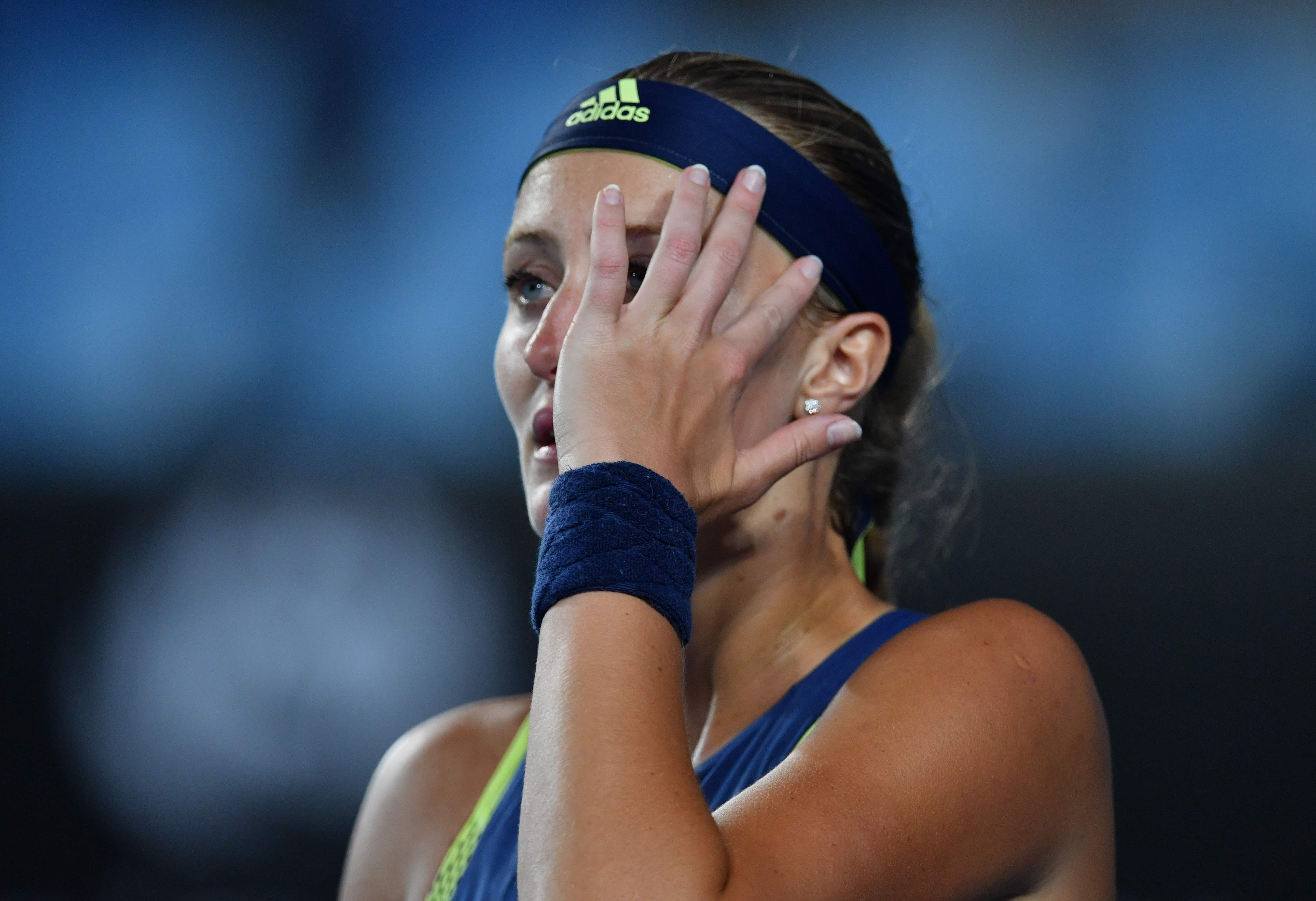 Tennis - Open Australie - Battue d'entrée, Mladenovic «signe» sa ... 15e défaite de suite
