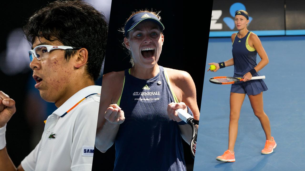 Tennis - Open Australie - Chung, Kerber, Mladenovic : l'essentiel de la nuit à Melbourne