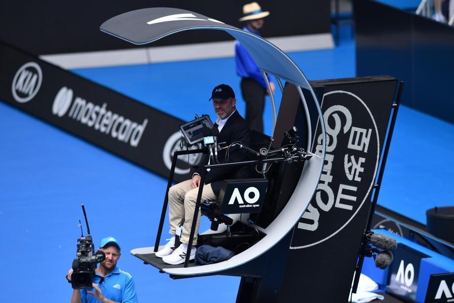 Tennis - Open Australie - Des chaises high-tech «ascenseur» pour les arbitres de l'Open d'Australie