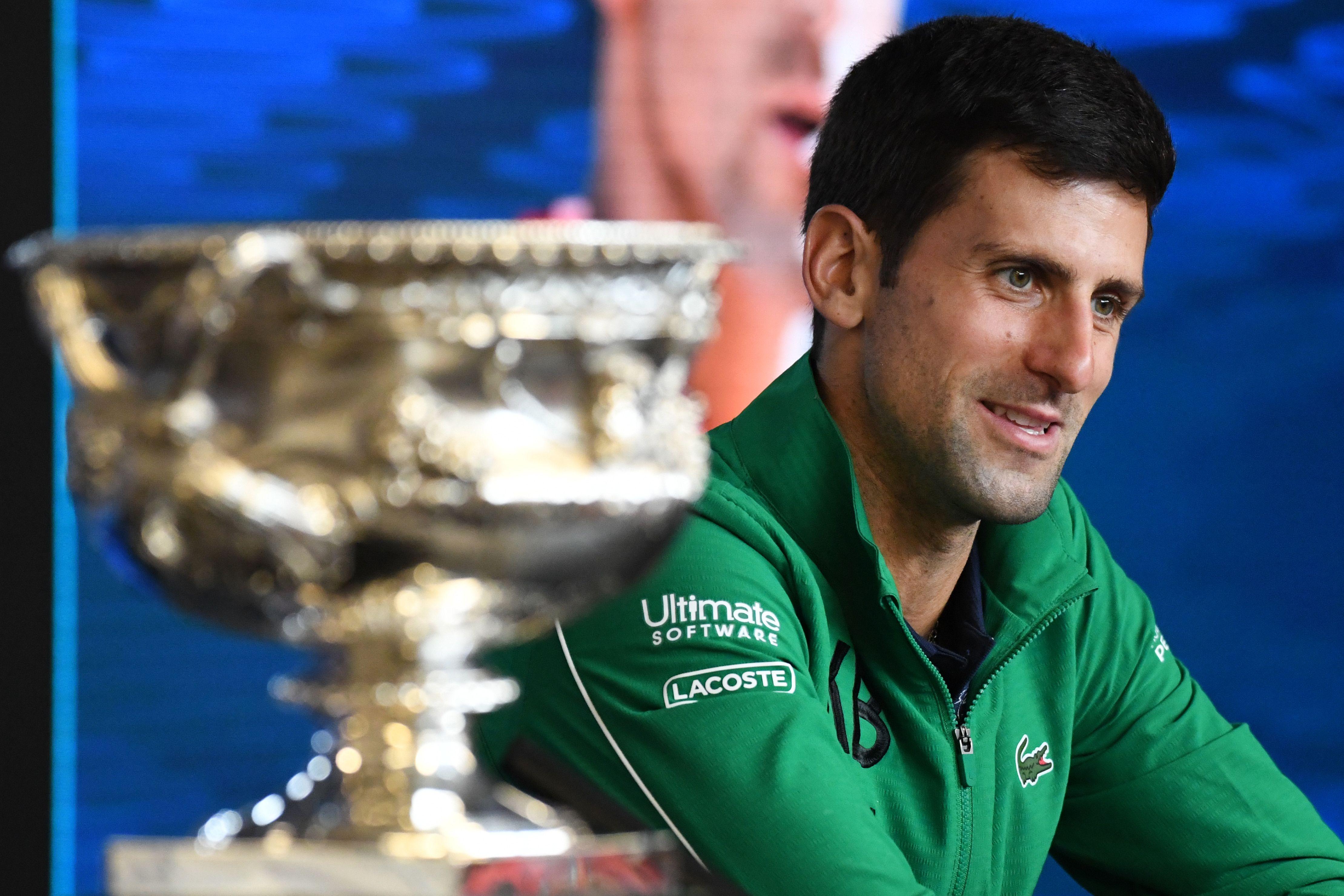 Tennis - Open Australie - Djokovic: «On ne peut pas profiter d'un succès en Grand Chelem»