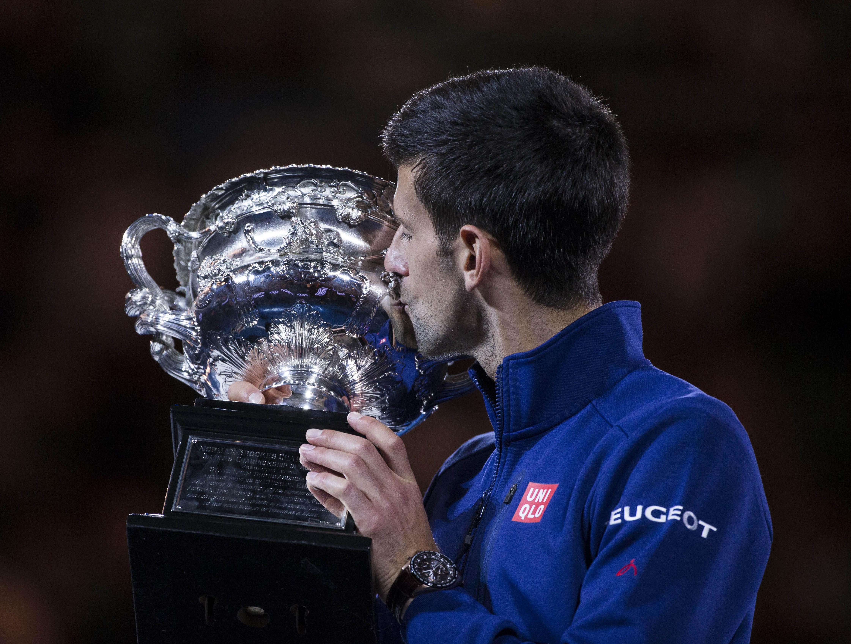 Tennis : Open Australie - Djokovic : �Onze titres, c'est ph�nom�nal, j'en suis tr�s fier�