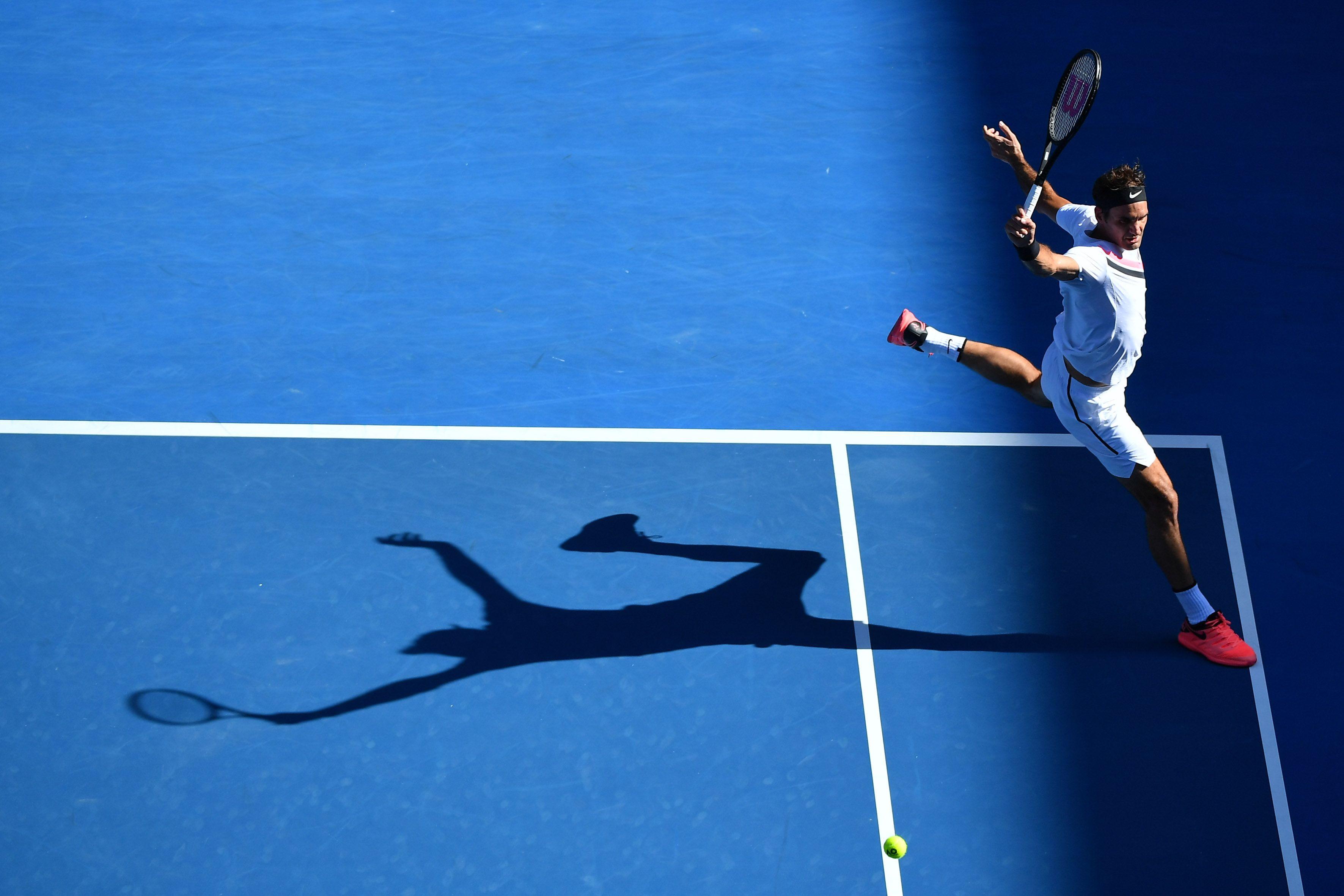 Tennis - Open Australie - Federer ne fond pas au soleil