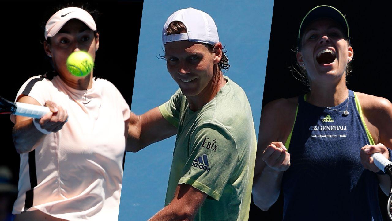 Tennis - Open Australie - Garcia, Berdych, Kerber : le résumé de la nuit à Melbourne