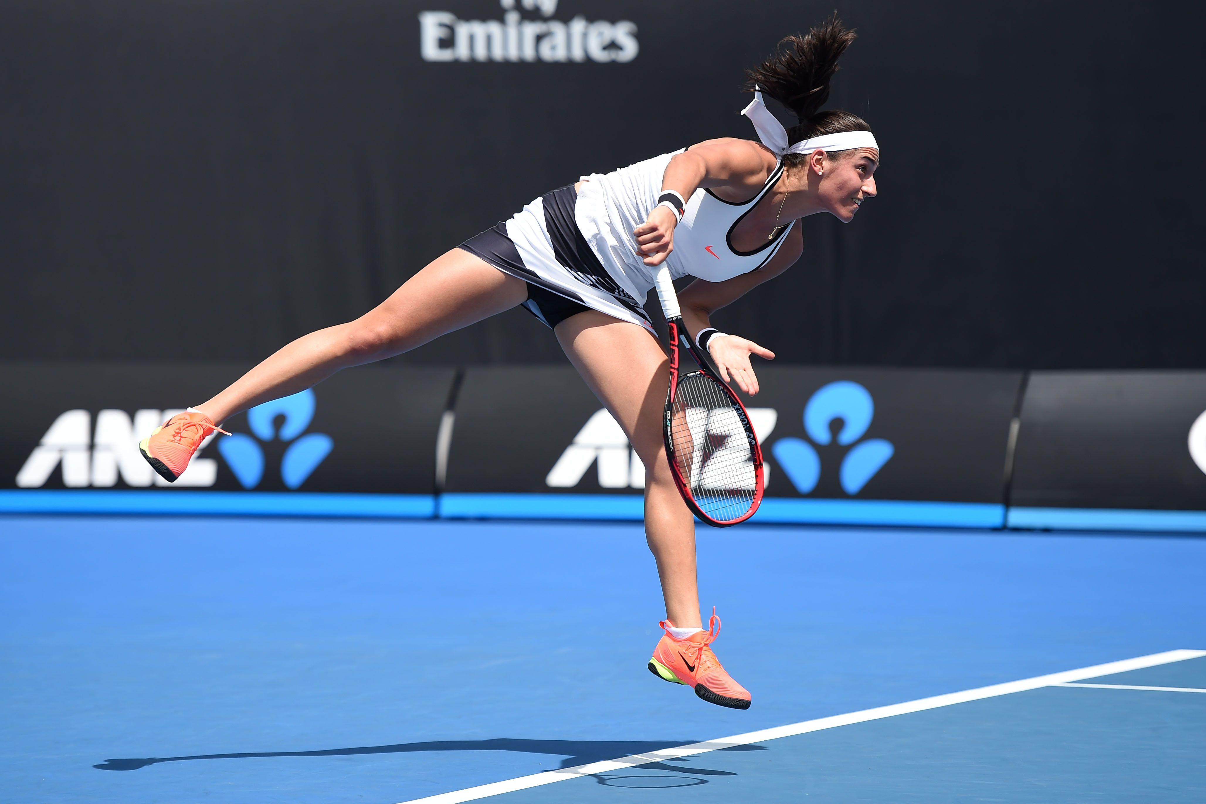 Tennis - Open Australie - Garcia laisse la porte des Bleus fermée à double tour