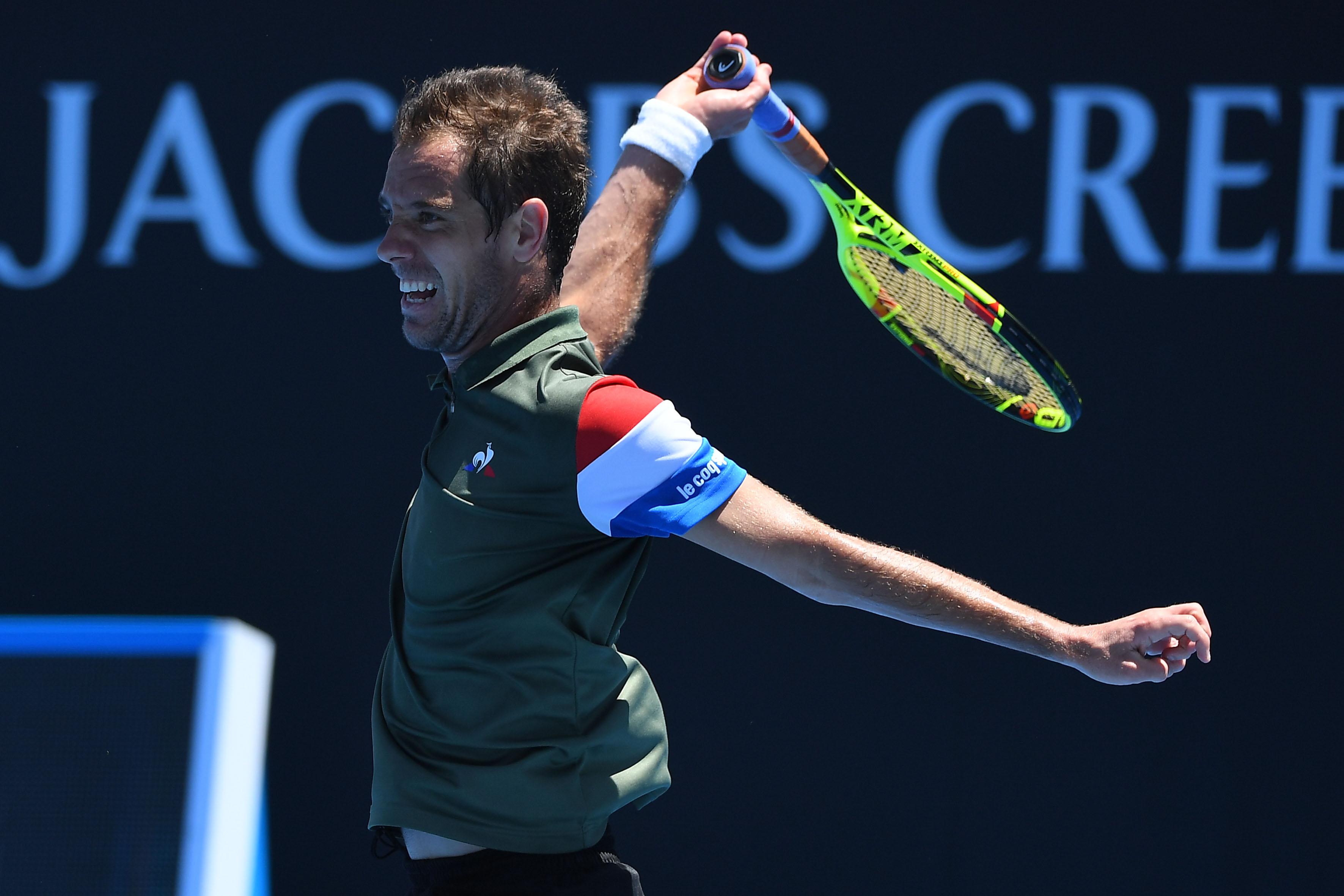 Tennis - Open Australie - Gasquet au défi de Dimitrov