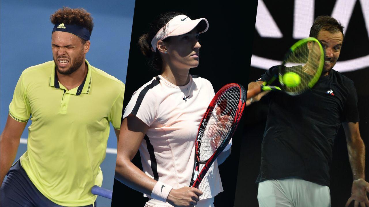 Tennis - Open Australie - Le tennis français marche à l'ombre à Melbourne