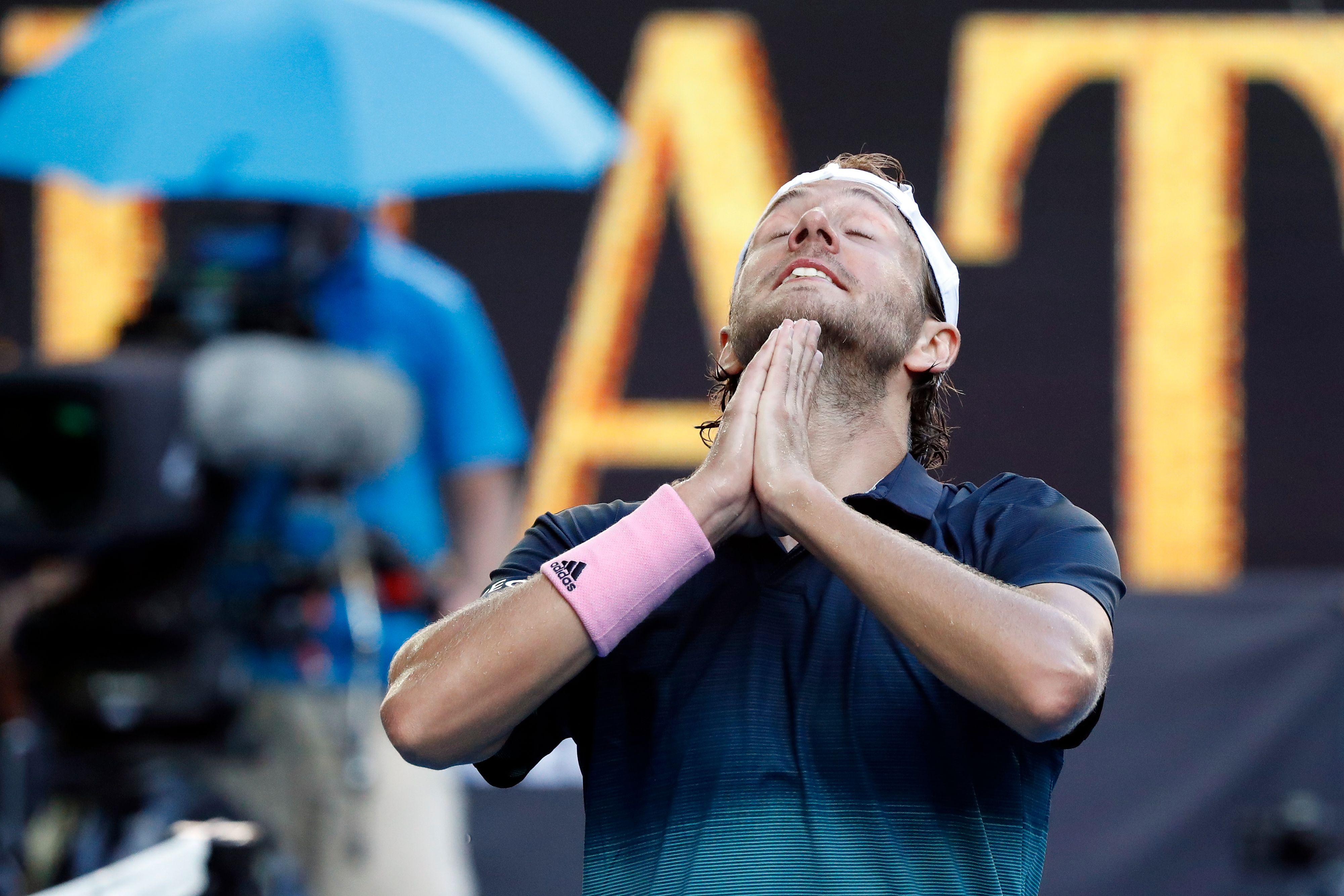 Tennis - Open Australie - Lucas Pouille : «Avec Mauresmo, on s'est bien trouvé»