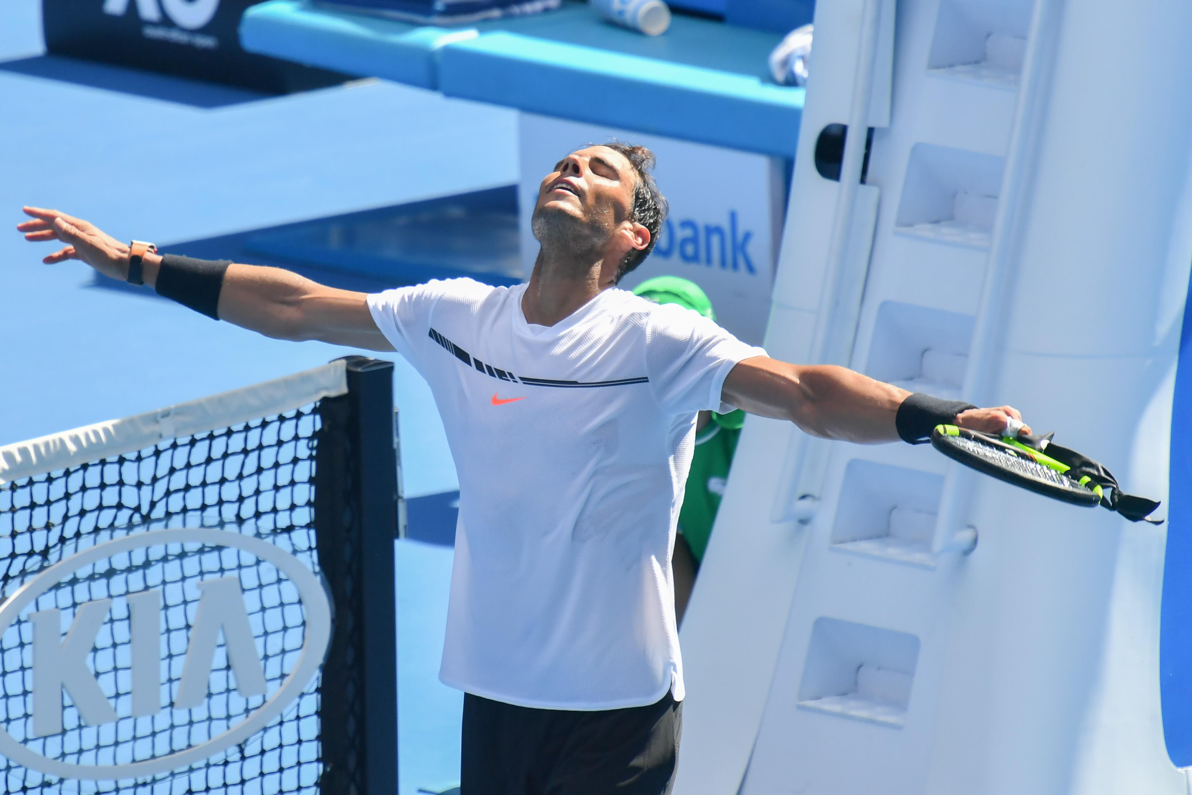 Tennis - Open Australie - Monfils et 6 Français, Nadal-Baghdatis: jeudi de grosse chaleur prévu à Melbourne