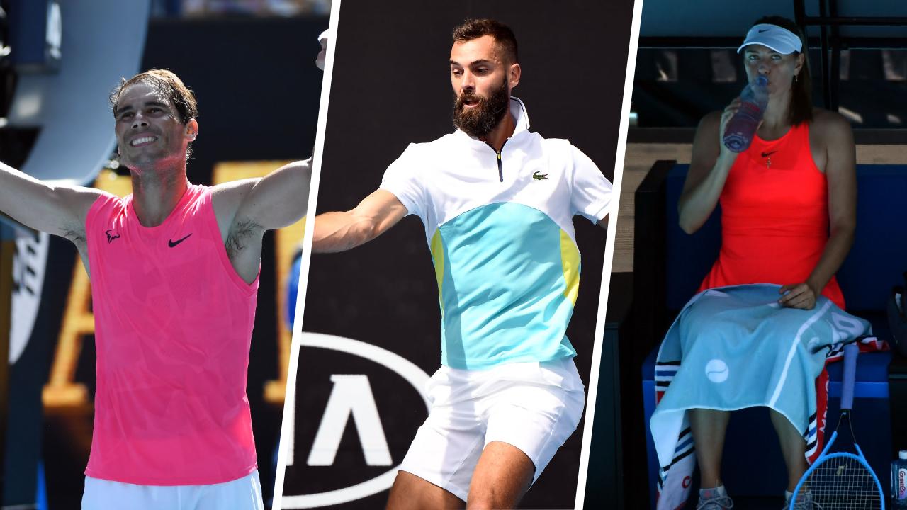 Nadal, Paire, Sharapova… : ce qu'il faut retenir de la nuit à l'Open d'Australie