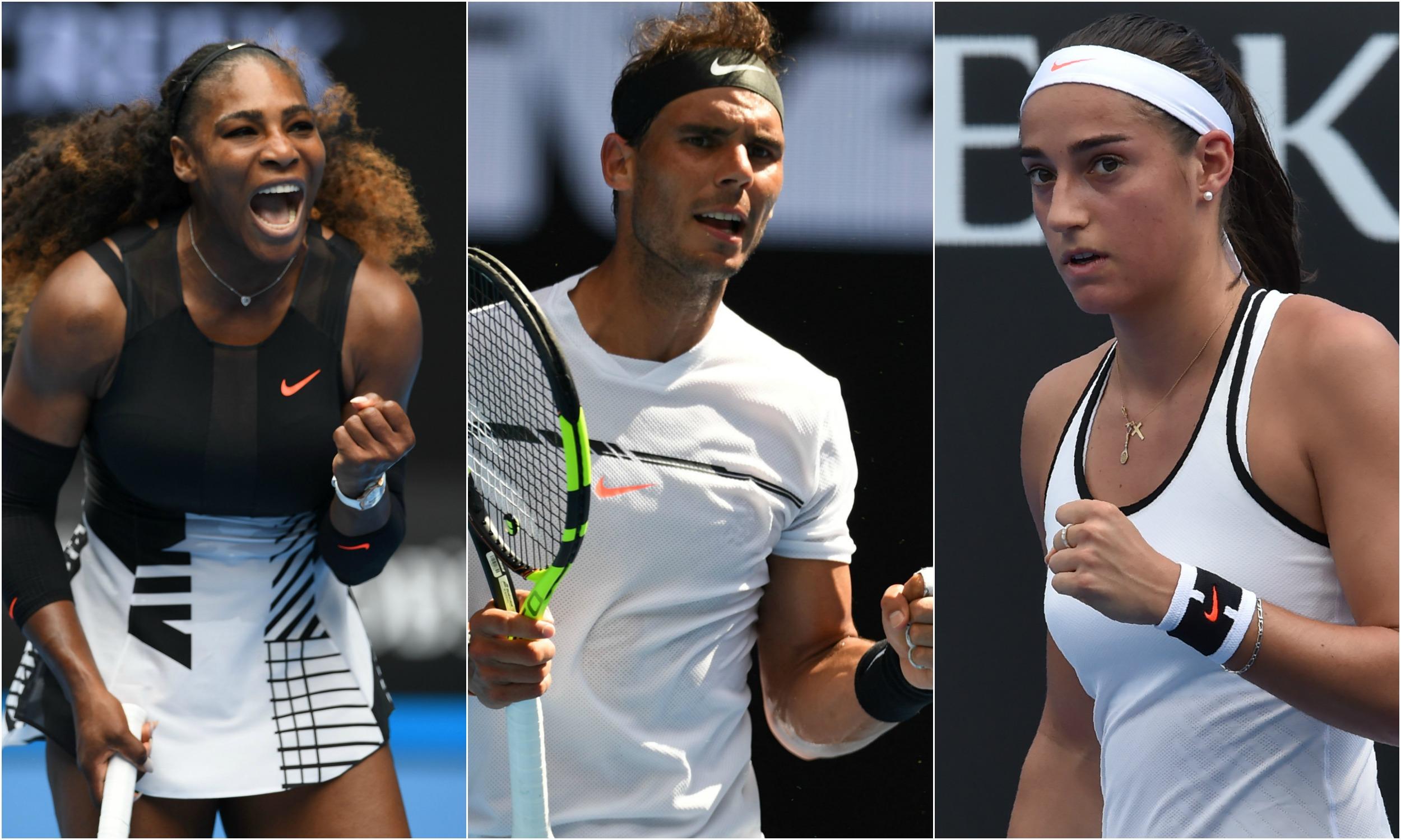 Tennis - Open Australie - Nadal, Serena, Garcia : ce qu'il faut retenir de la nuit à Melbourne