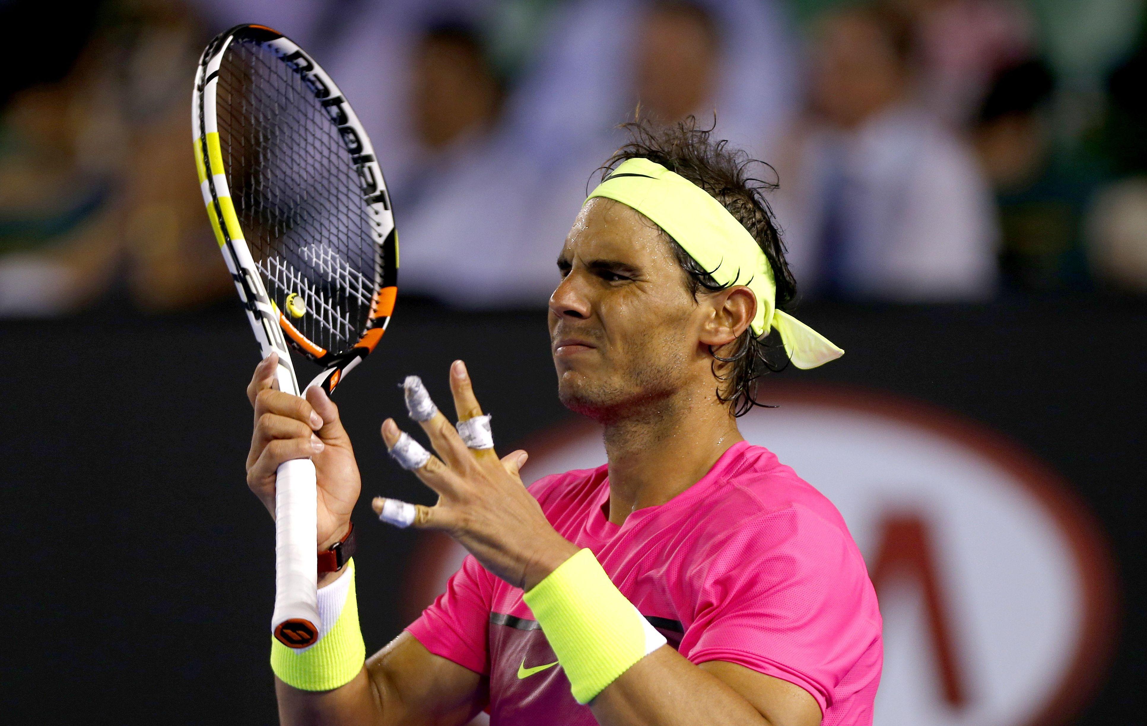 Tennis : Open Australie - </b>Nadal violemment &#233;ject&#233;
