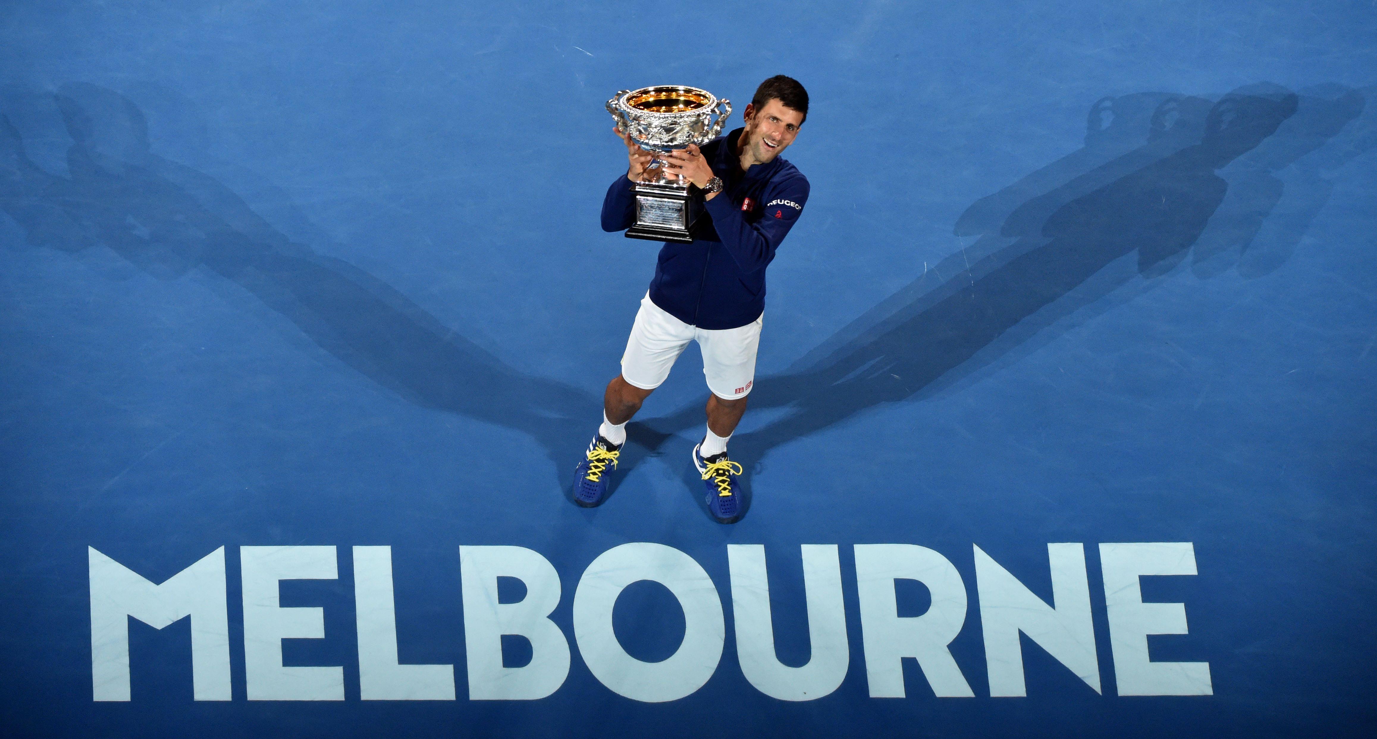 Tennis : Open Australie - Novak Djokovic ou la ponctualit� du roi