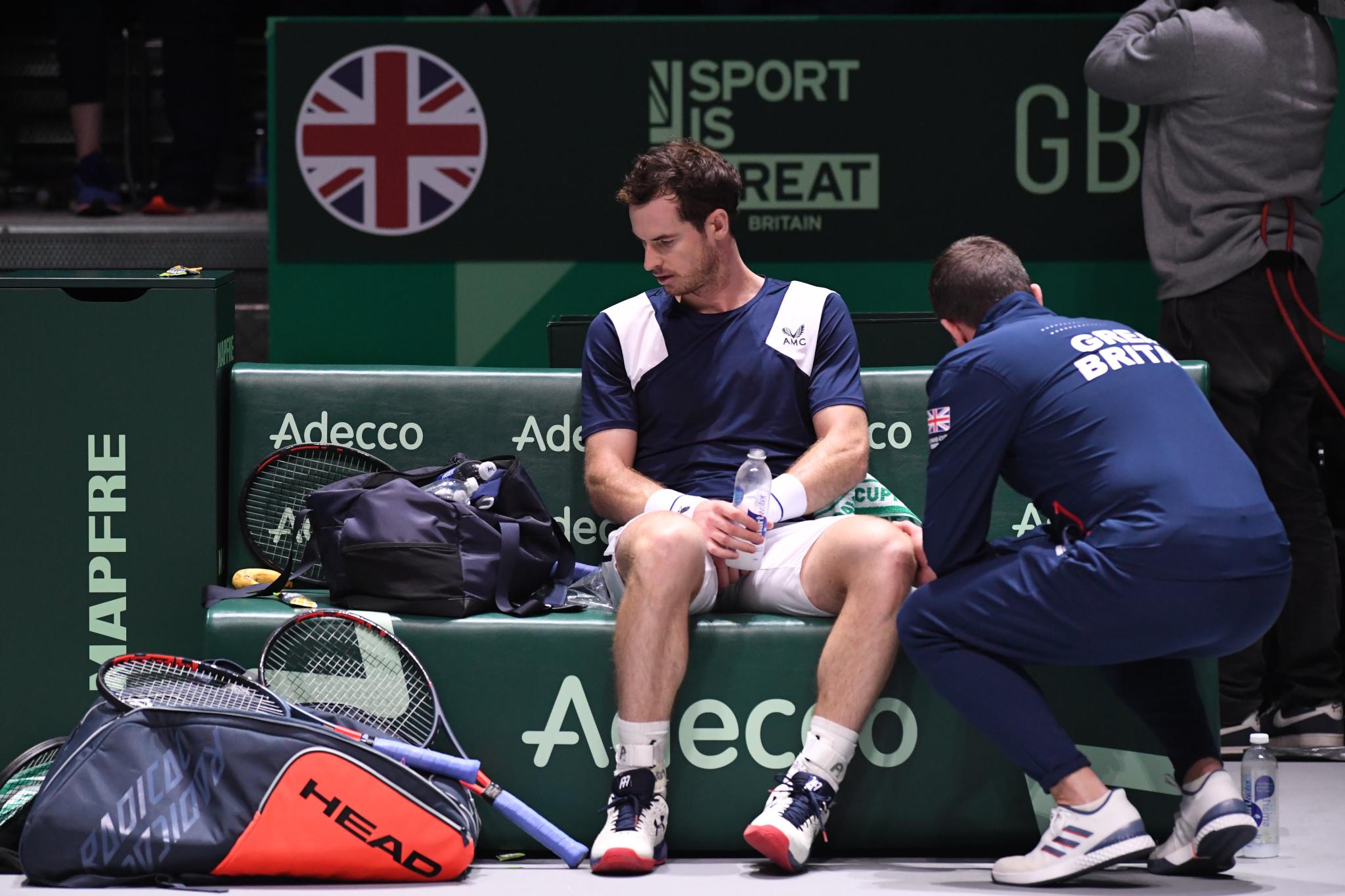 Tennis - Open Australie - Open d'Australie : Andy Murray contraint de renoncer