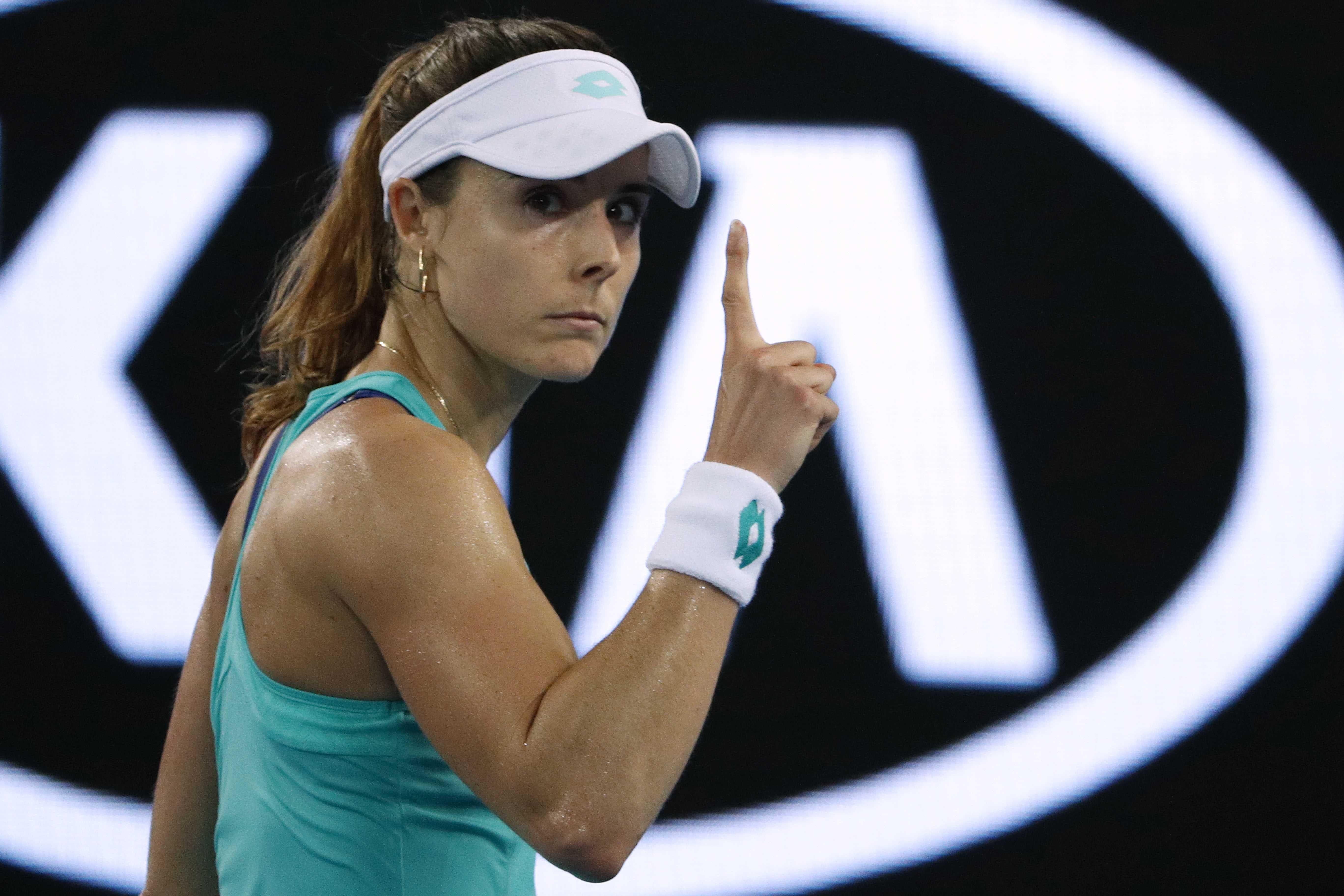 Tennis - Open Australie - Open d'Australie : Le joli coup de Cornet
