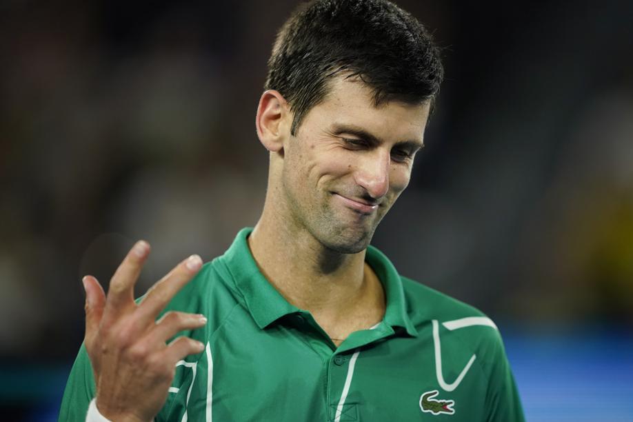 Tennis - Open Australie - Quand Djokovic perd ses nerfs