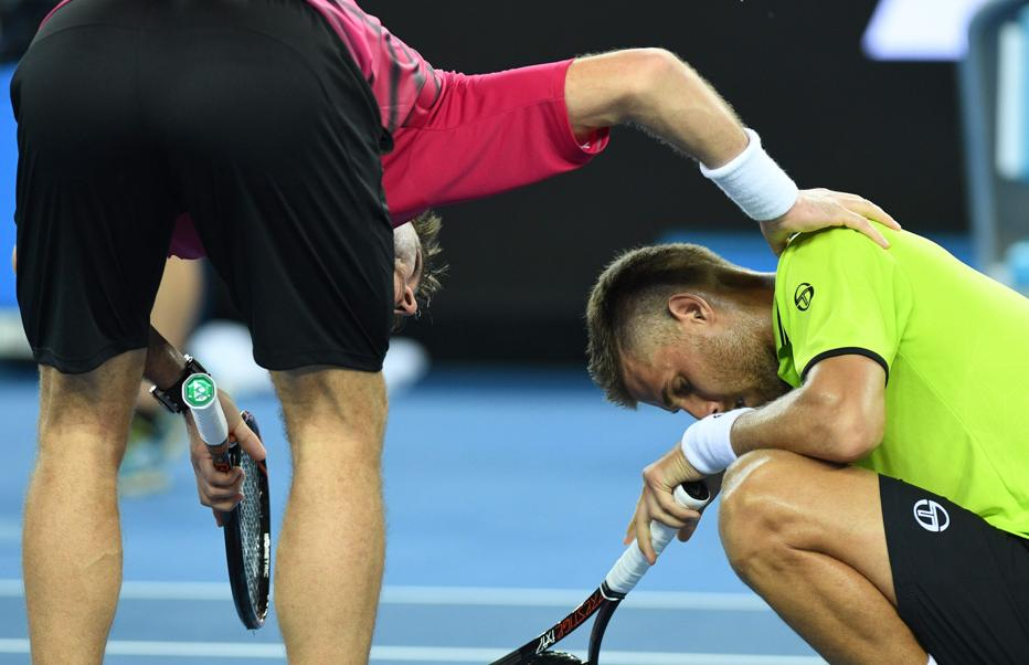 Tennis - Open Australie - Quand Wawrinka allume ... son adversaire au filet